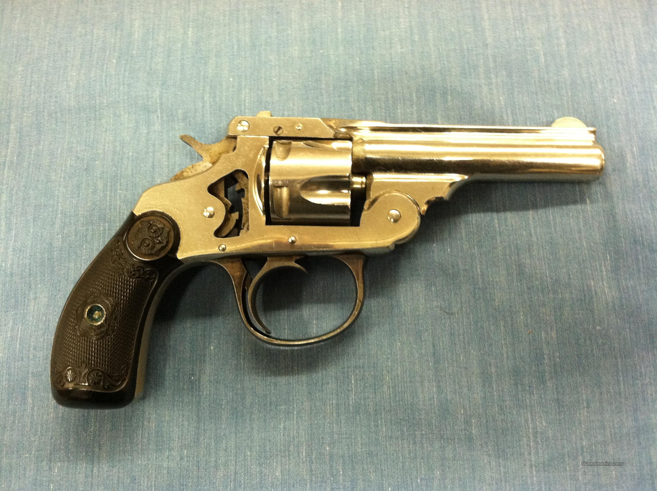 Iver Johnson & Co. .32Cal Cut-A-Way Revolver  Guns > Pistols > Iver Johnson Pistols