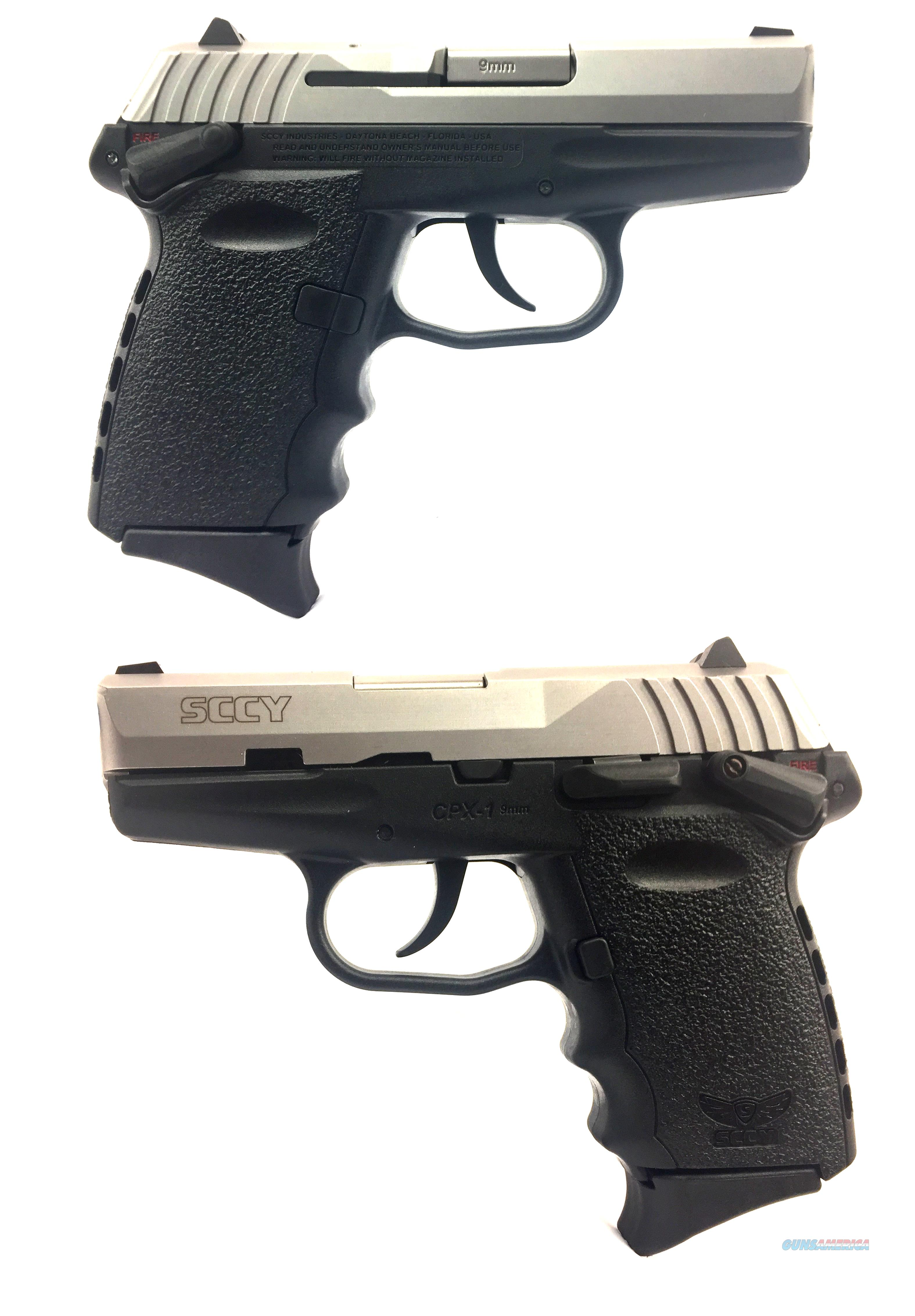 SCCY CPX-1  9mm Pistol  Guns > Pistols > SCCY Pistols > CPX1