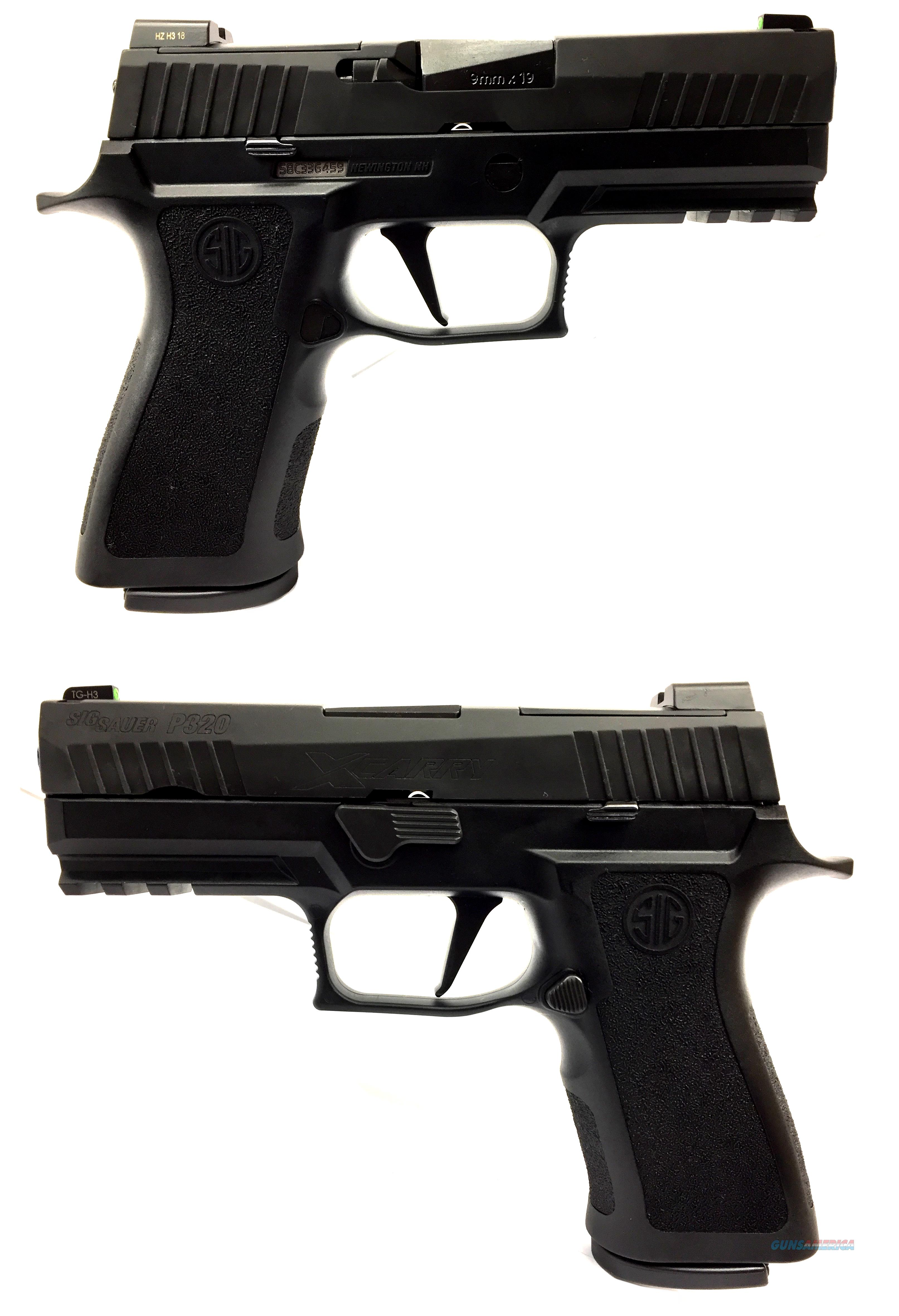 Sig Sauer P320 XCARRY 9MM Semi-Automatic Pistol  Guns > Pistols > Sig - Sauer/Sigarms Pistols > P320
