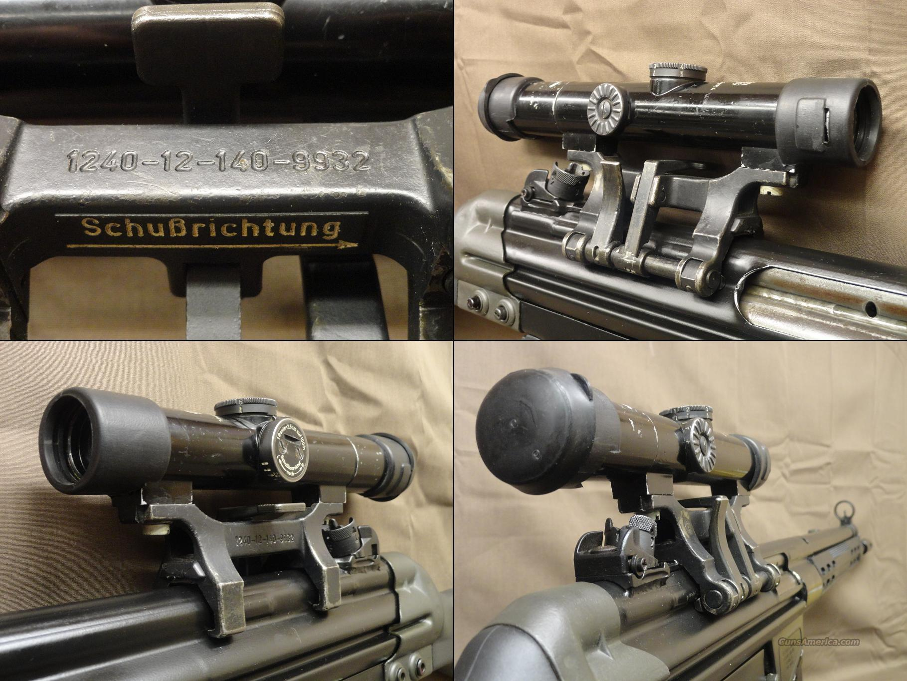 Hensoldt Wetzlar ZF Model One 4x Scope for H&KG3,91/PTR/CETME/C91 Style Rifles - *Rifle Not Included*  Non-Guns > Scopes/Mounts/Rings & Optics > Tactical Scopes > Other Head-Up Optics
