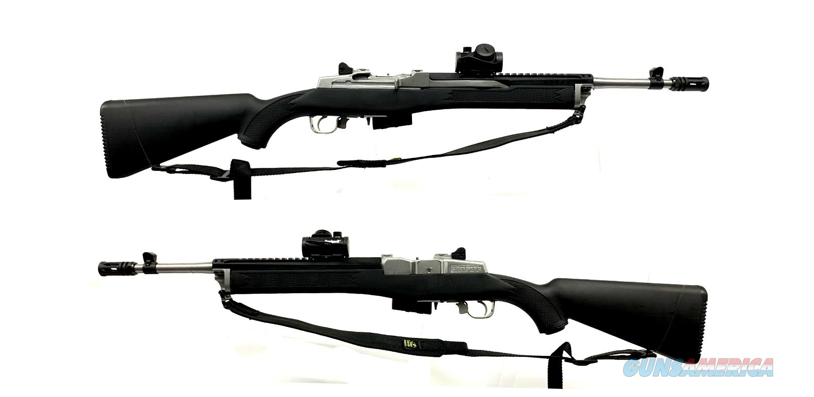 Ruger Mini-14 Semi-Automatic Ranch Rifle  Guns > Rifles > Ruger Rifles > Mini-14 Type