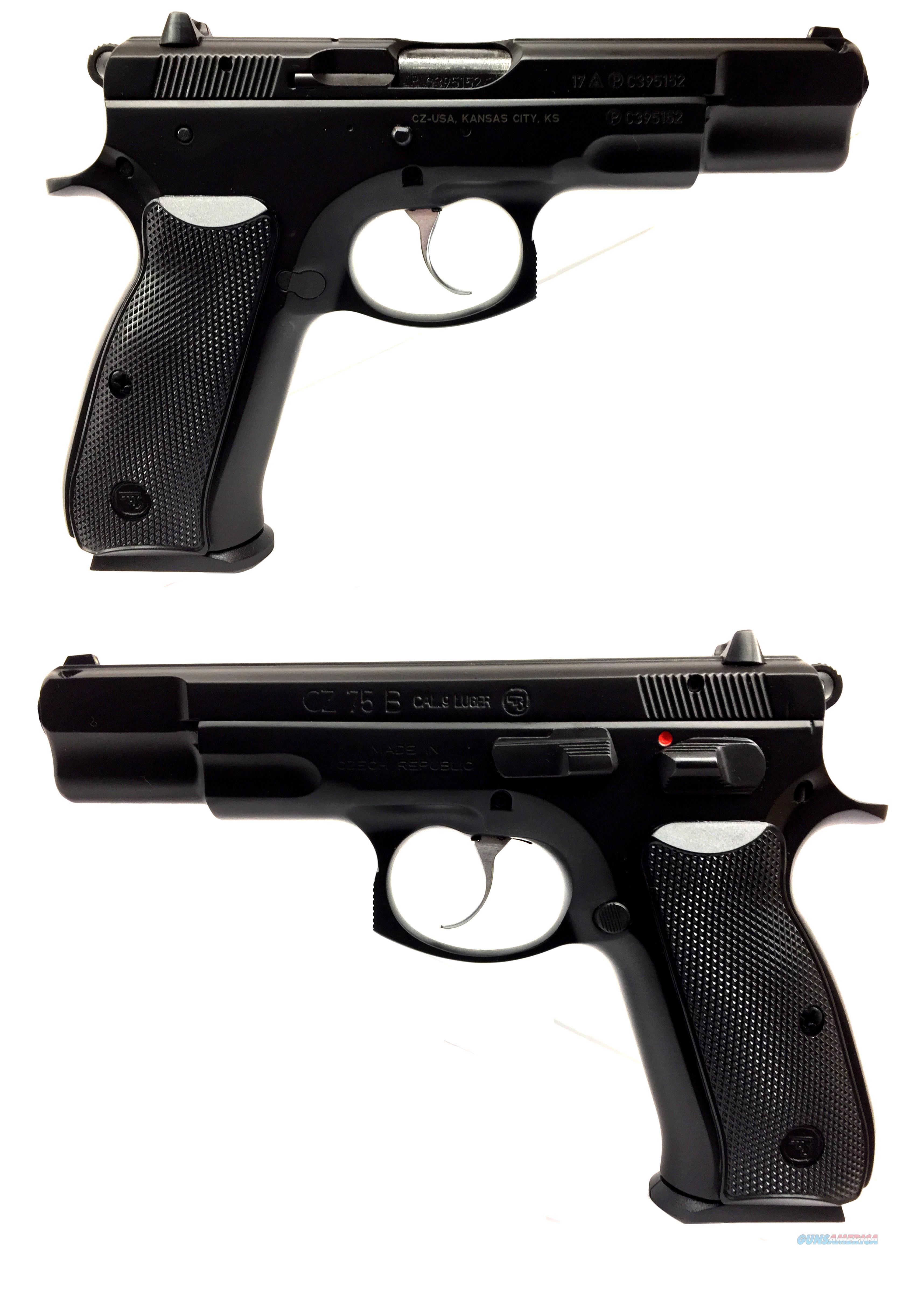 CZ 75 B Semi-Automatic Pistol  Guns > Pistols > CZ Pistols