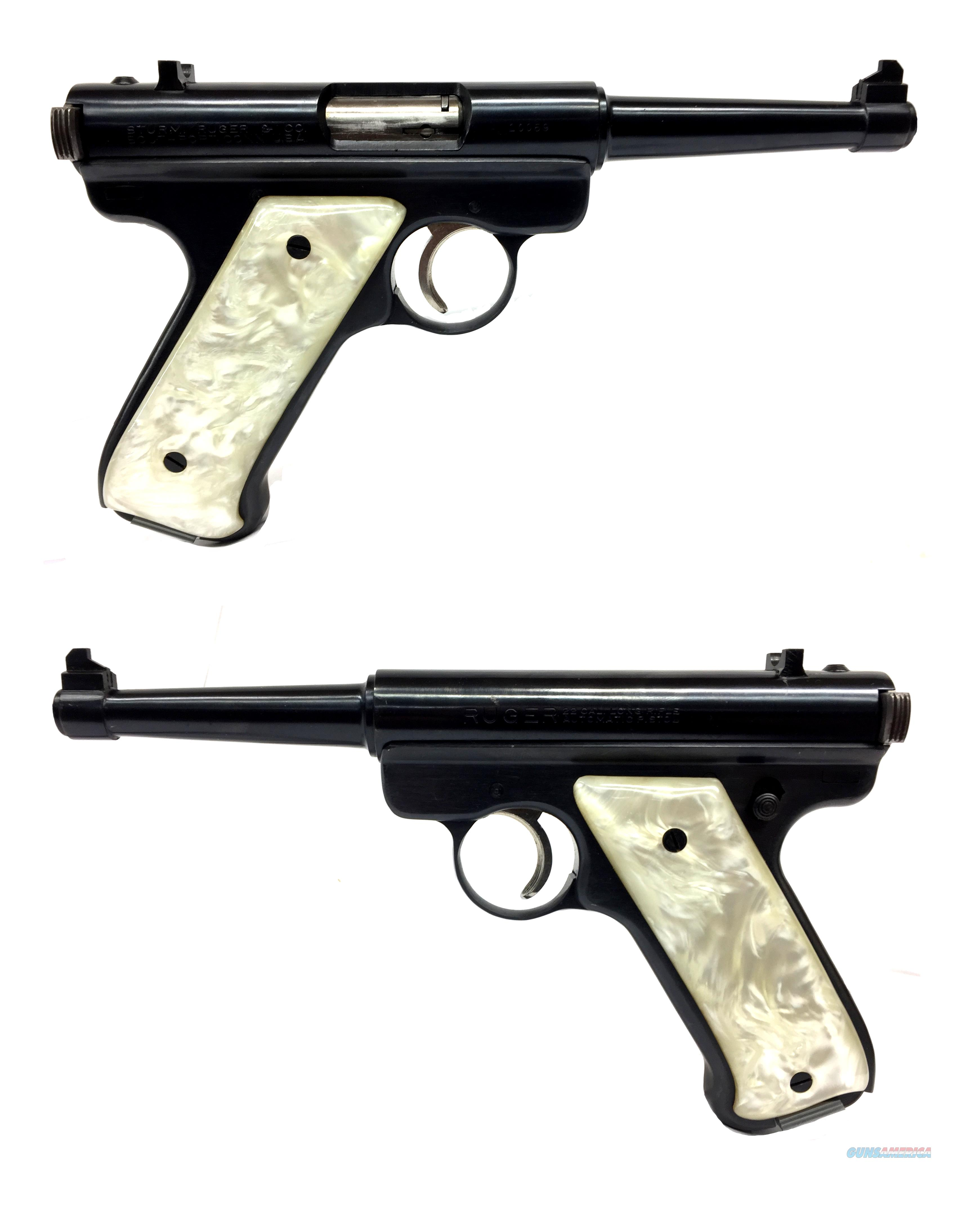 Ruger Red Eagle Standard .22LR Semi-Automatic Pistol  Guns > Pistols > Ruger Semi-Auto Pistols > Mark I/II/III/IV Family