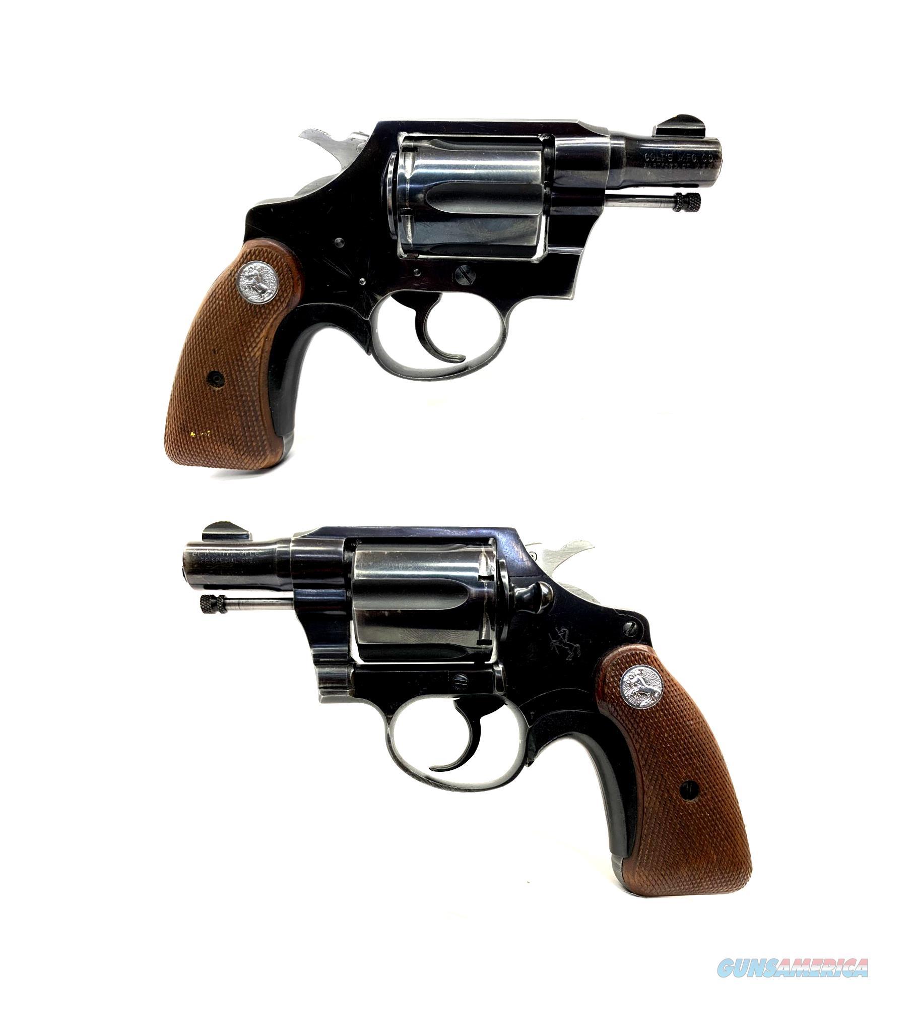 Colt Detective .38SPL Revolver 2nd Issue  Guns > Pistols > Colt Double Action Revolvers- Modern