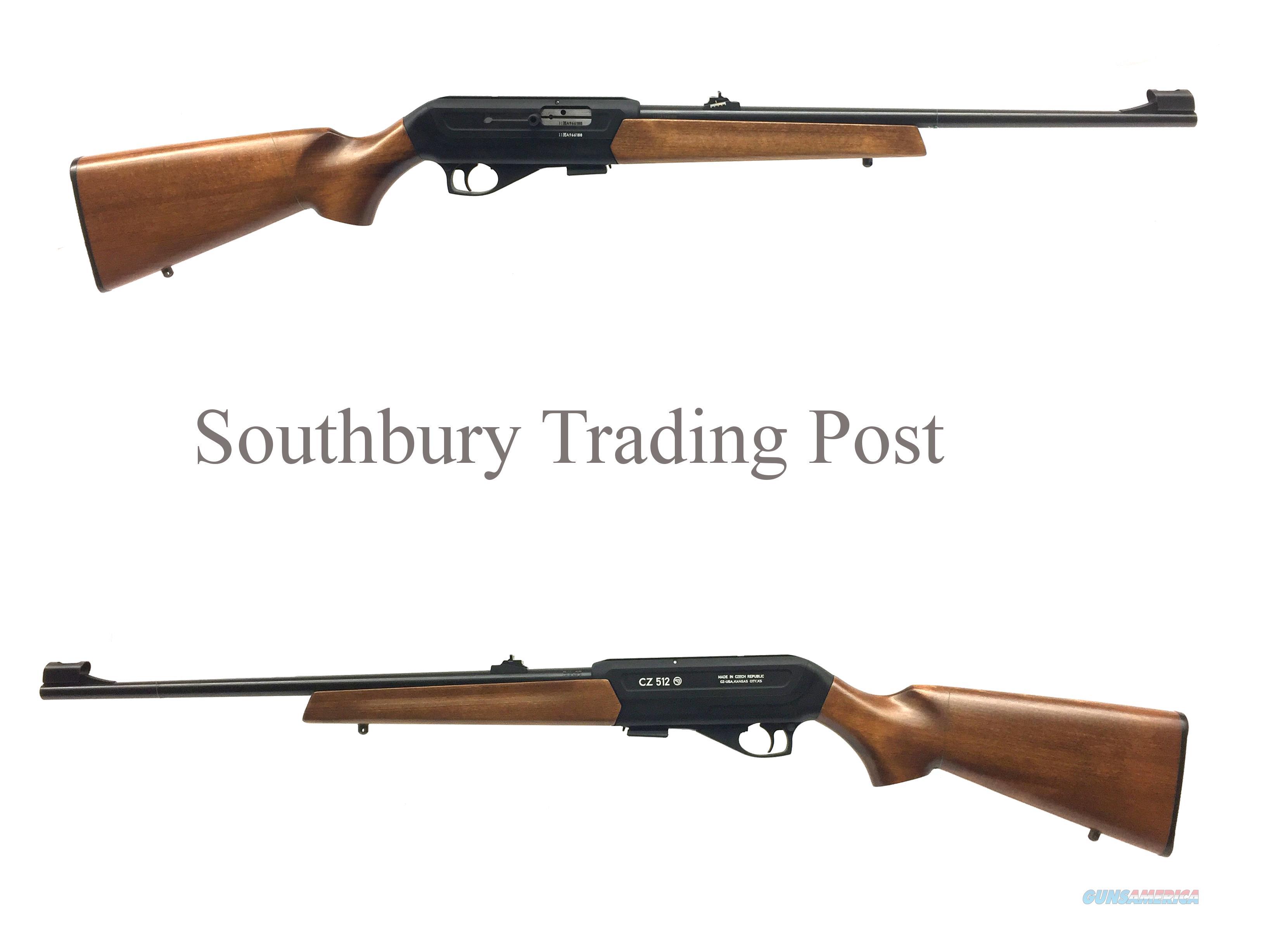 CZ Model 512 Semi-Automatic .22lr Rifle   Guns > Rifles > CZ Rifles