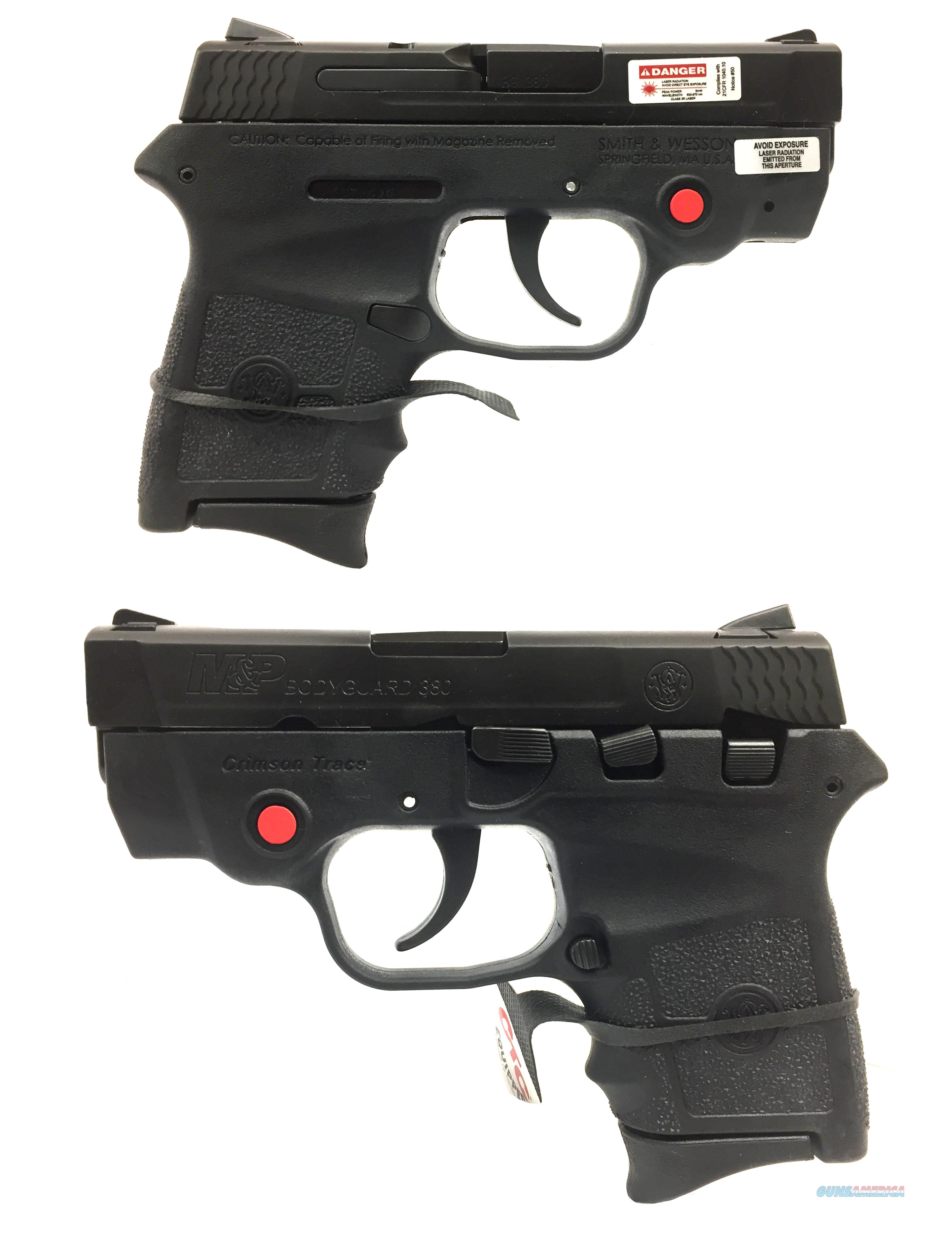 Smith & Wesson M&P .380 Bodyguard w/ Crimson Trace Laser  Guns > Pistols > Smith & Wesson Pistols - Autos > Polymer Frame
