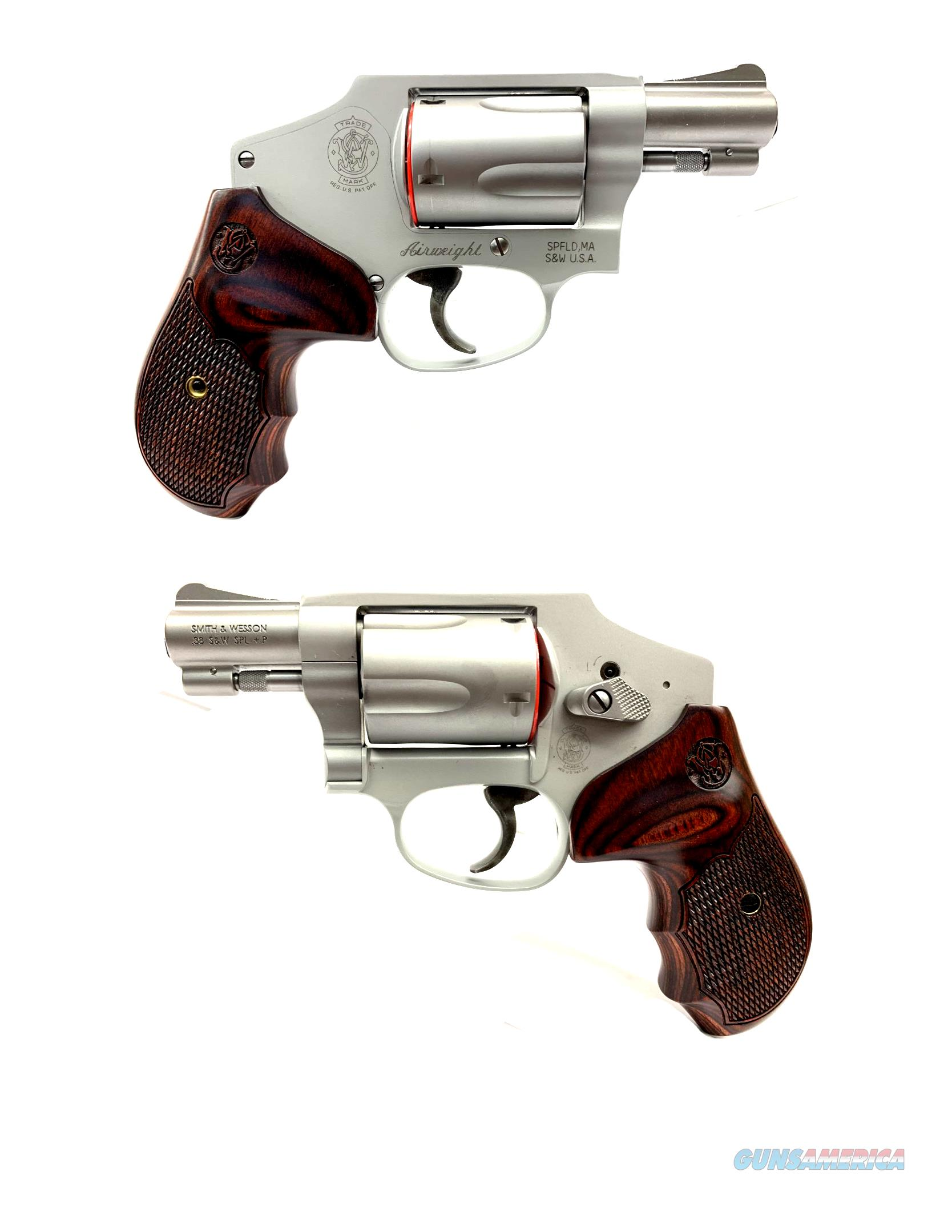Smith & Wesson Model 642-2 Deluxe Airweight   Guns > Pistols > Smith & Wesson Revolvers > Small Frame ( J )