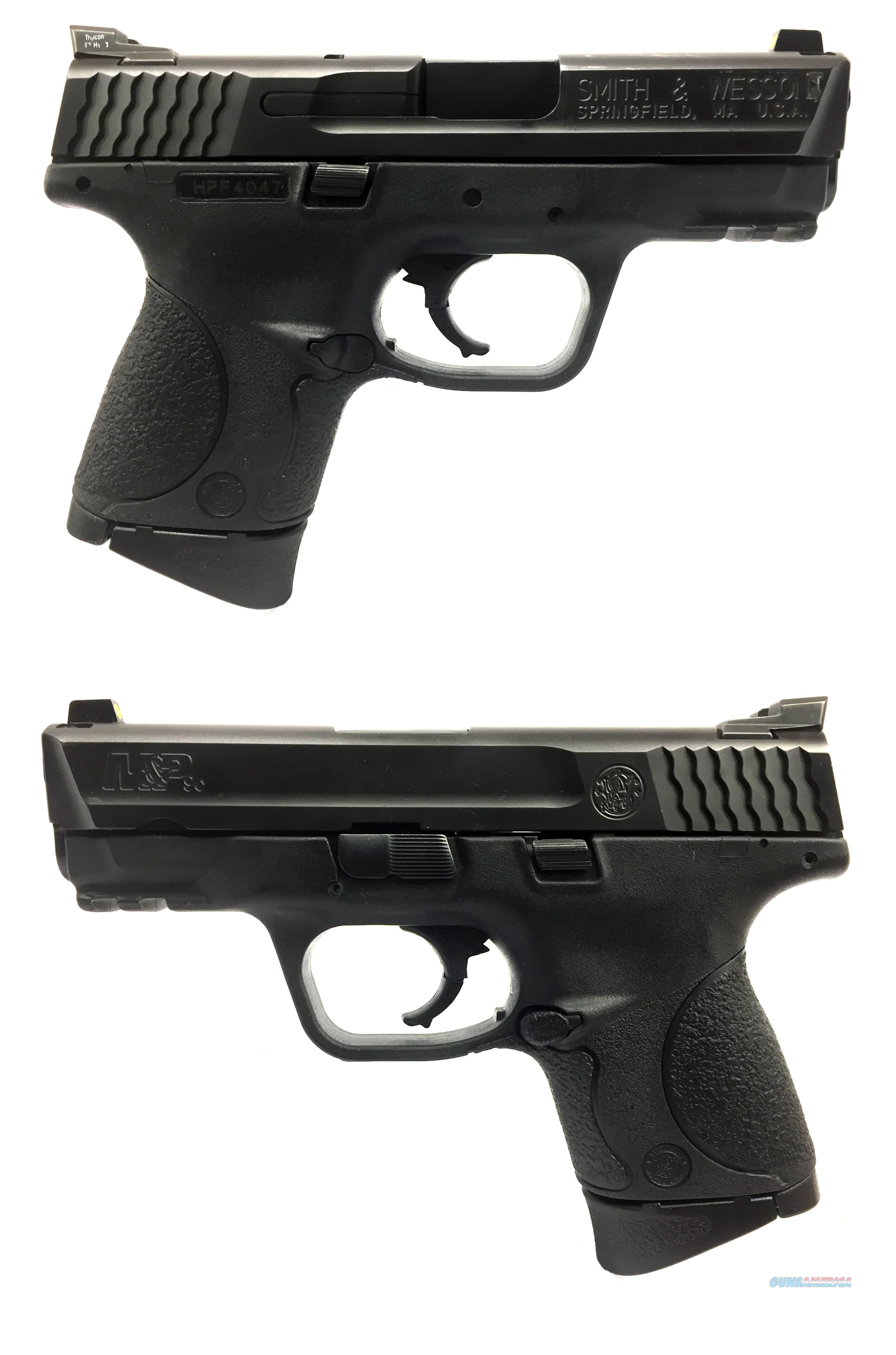 Smith & Wesson M&P9c Semi-Automatic Pistol  Guns > Pistols > Smith & Wesson Pistols - Autos > Polymer Frame