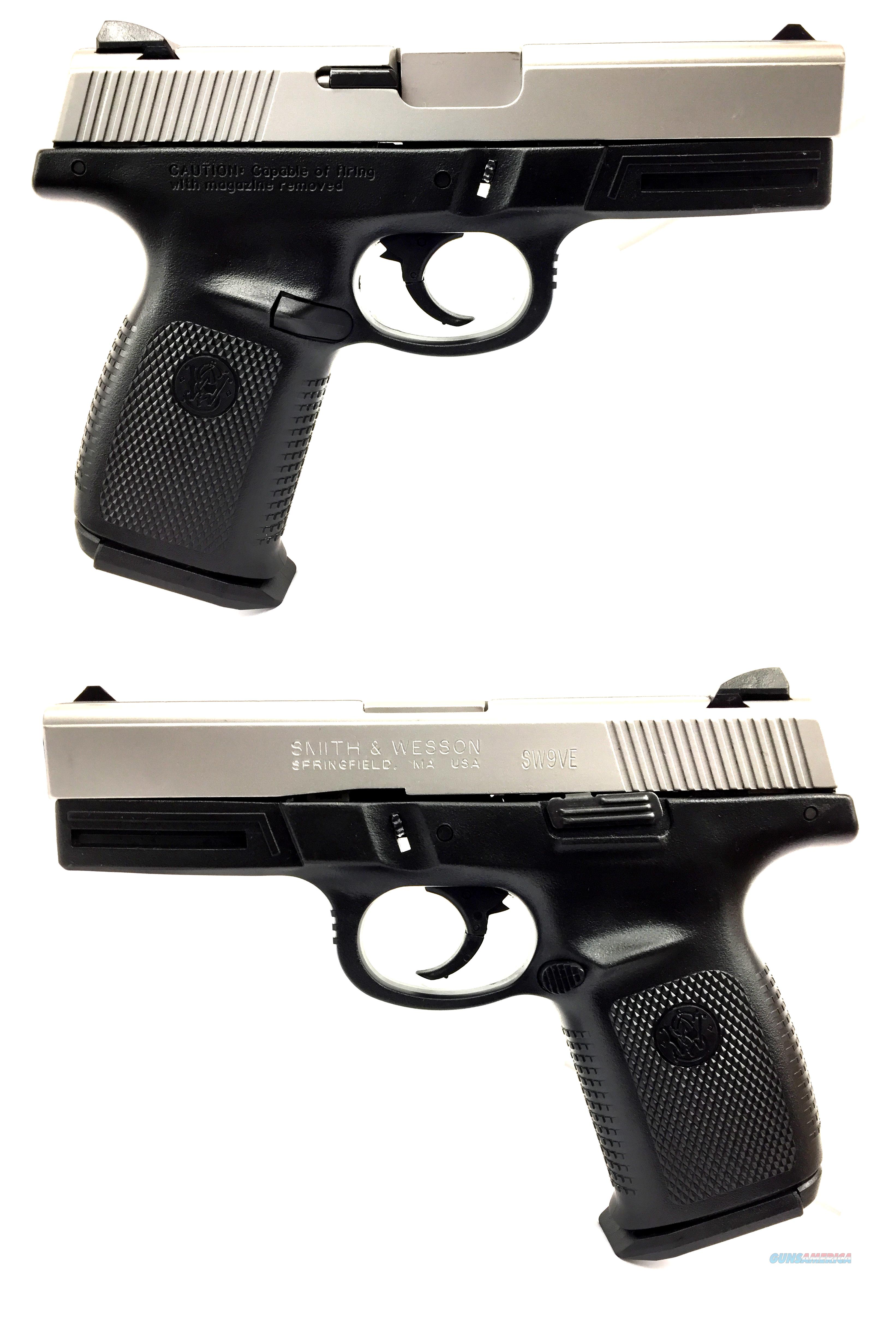 Smith & Wesson SW9VE Two-Tone Semi-Automatic Pistol  Guns > Pistols > Smith & Wesson Pistols - Autos > Polymer Frame