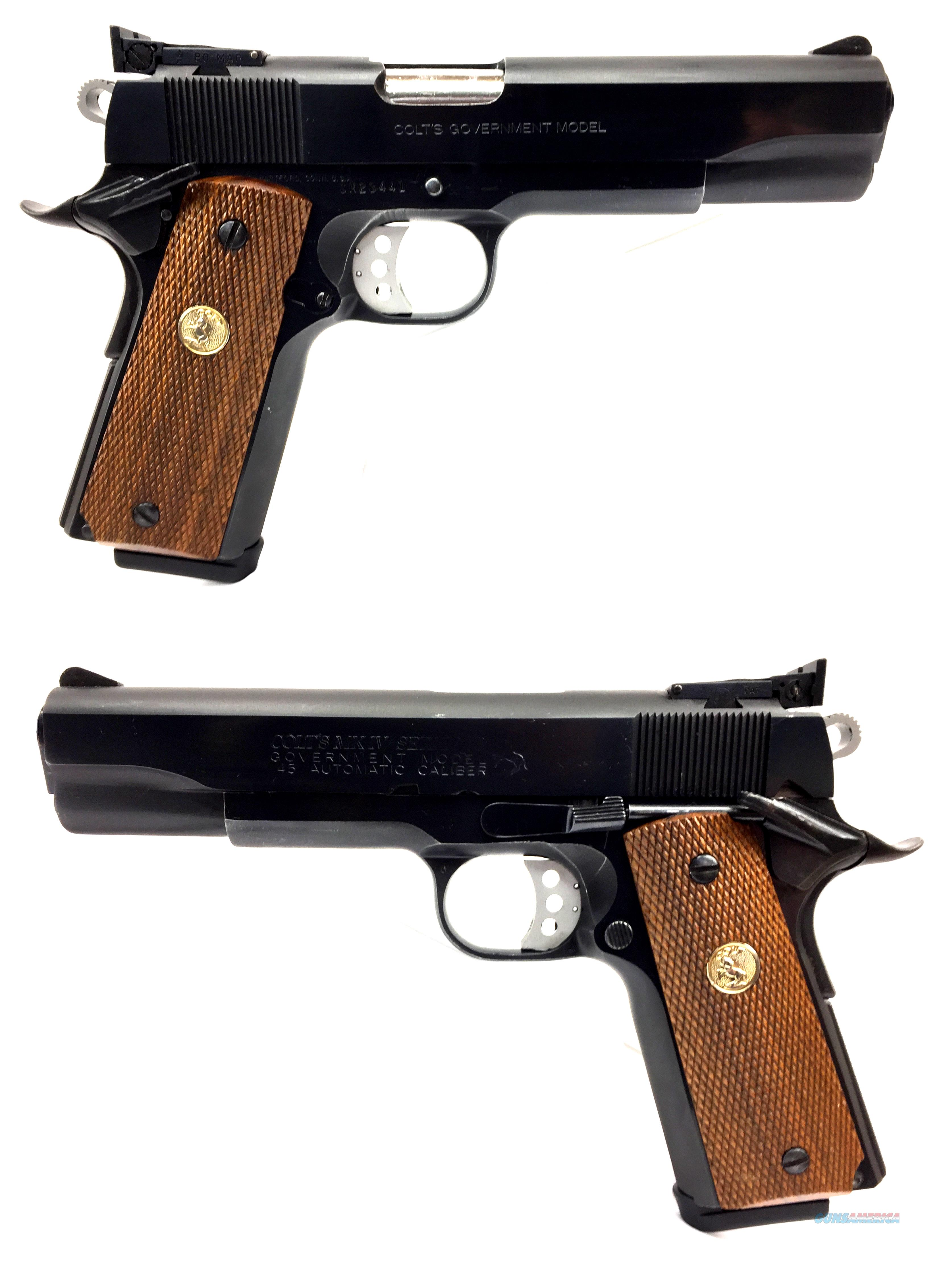 Colt Government MKIV/ Series 70 1911 .45ACP  Guns > Pistols > Colt Automatic Pistols (1911 & Var)