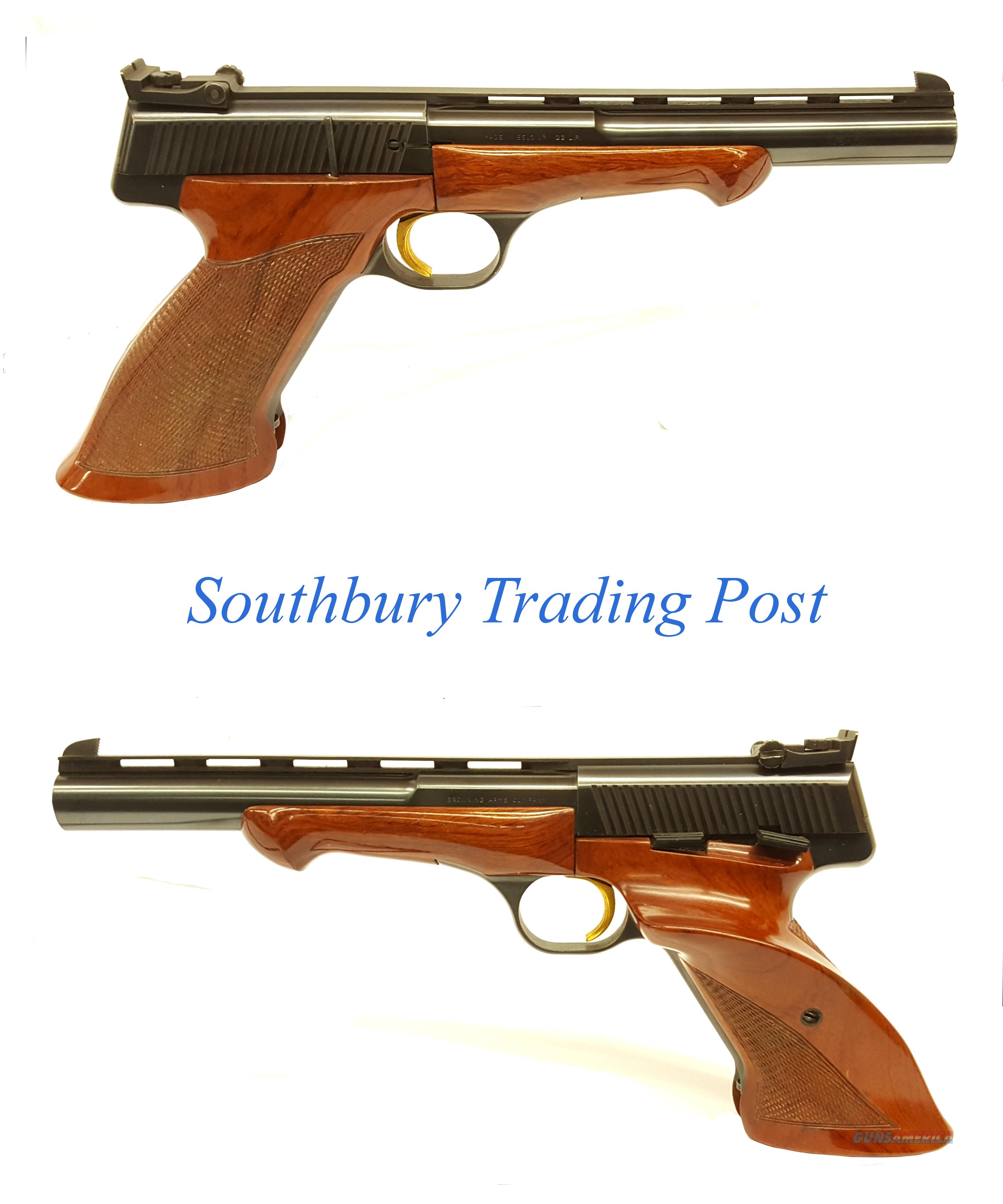 Browning Medalist .22 Long Rifle Semi-Automatic Pistol ( Price Reduced )**  Guns > Pistols > Browning Pistols > Other Autos