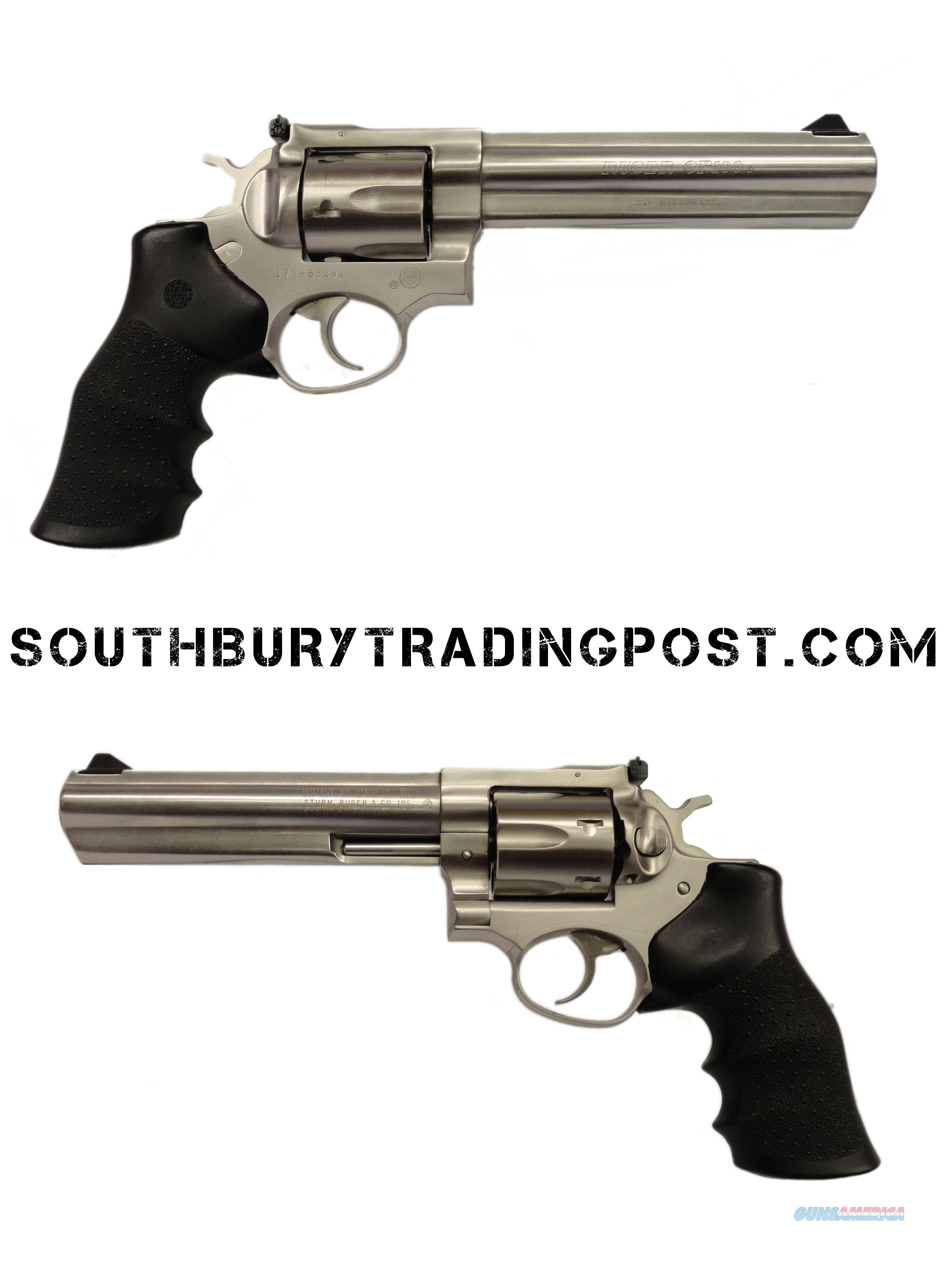 Ruger GP100 .357 Magnum - very good condition  Guns > Pistols > Ruger Double Action Revolver > GP100