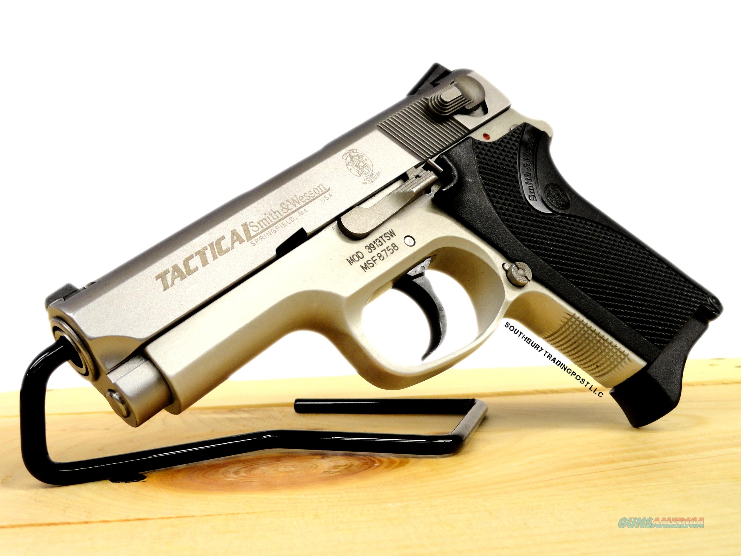 Smith & Wesson 3919TS 9MM + Magazines & Holster  Guns > Pistols > Smith & Wesson Pistols - Autos > Alloy Frame