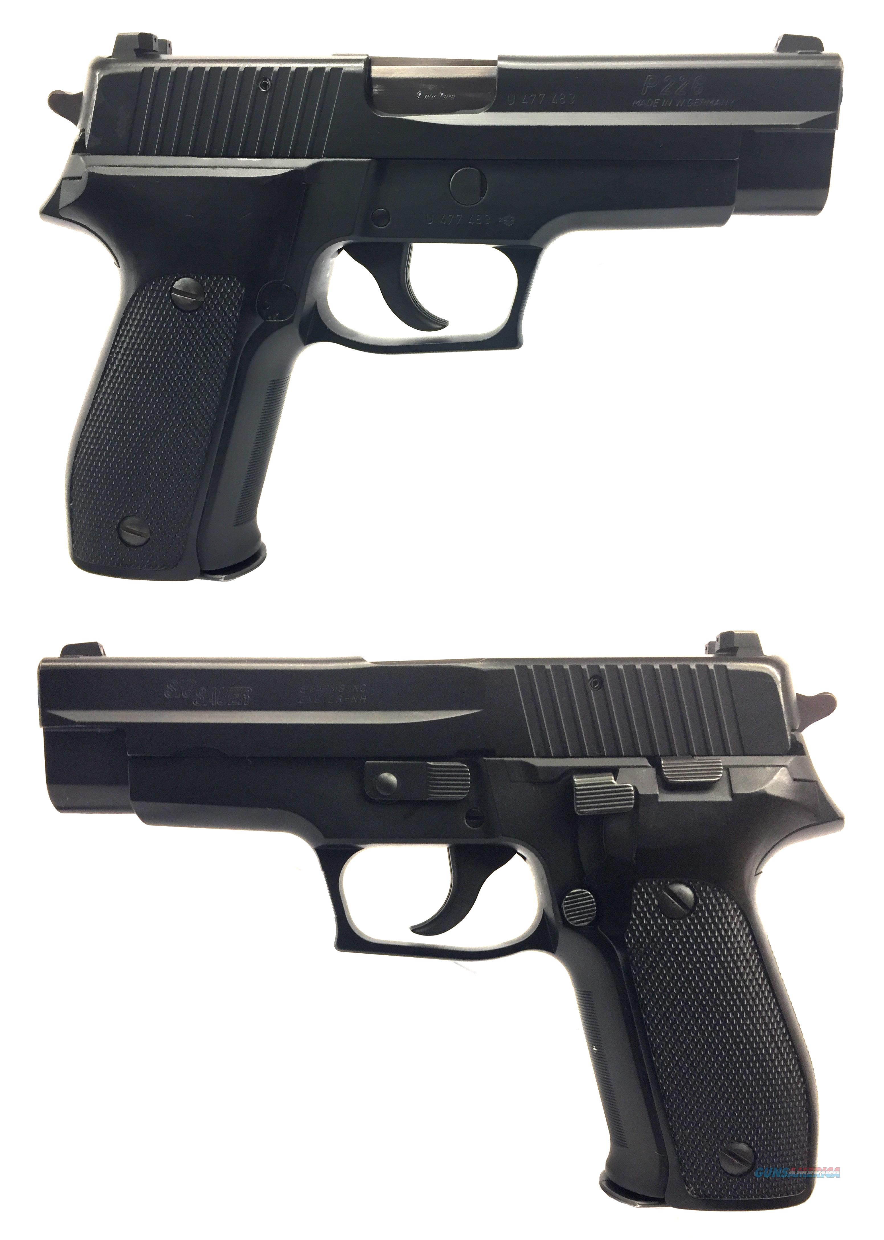 Sig Sauer P226 9mm Semi-Auto Pistol With West Germany Stamp  Guns > Pistols > Sig - Sauer/Sigarms Pistols > P226