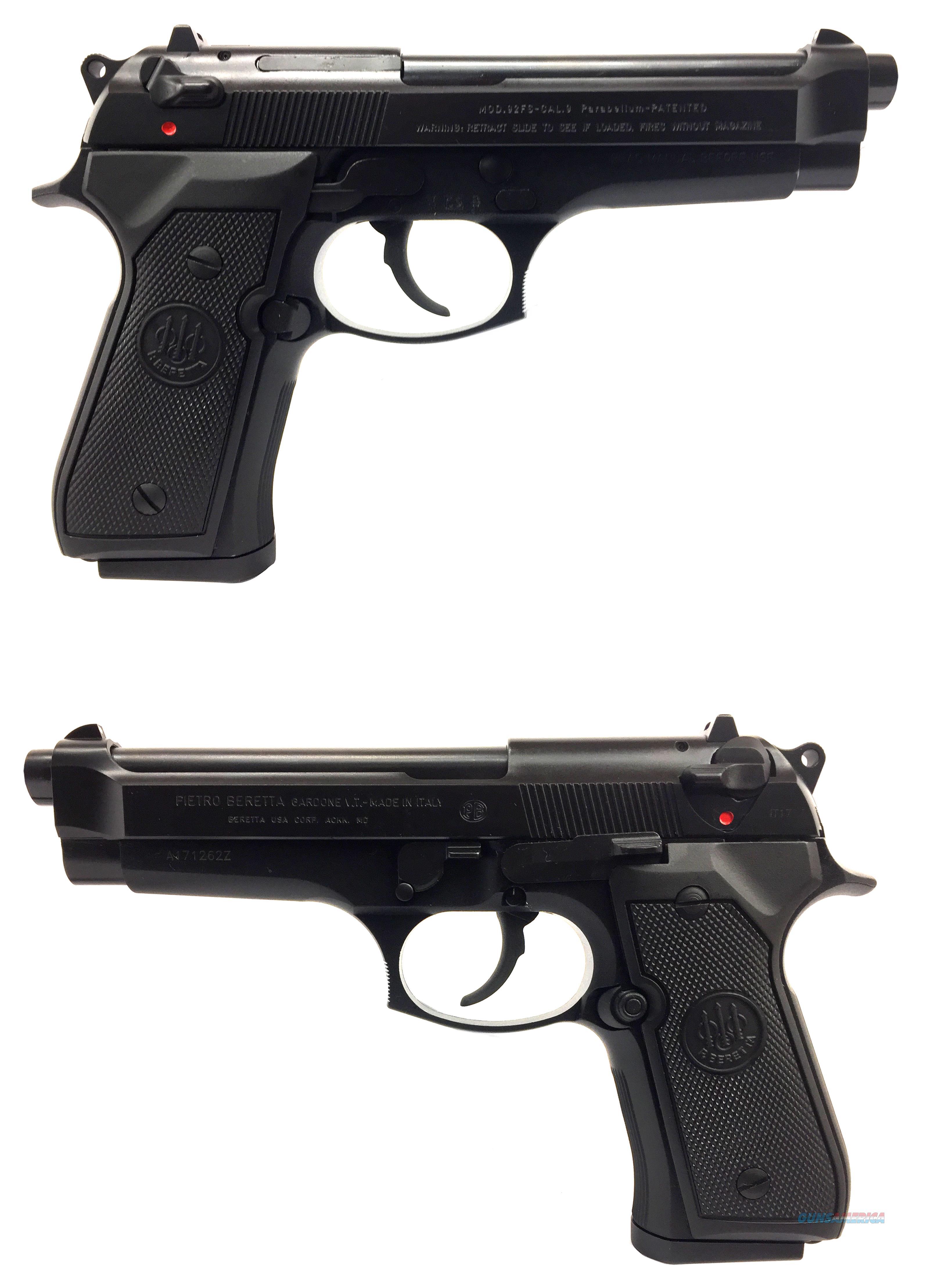 Beretta 92 FS 9MM Semi-Automatic Pistol  Guns > Pistols > Beretta Pistols > Model 92 Series