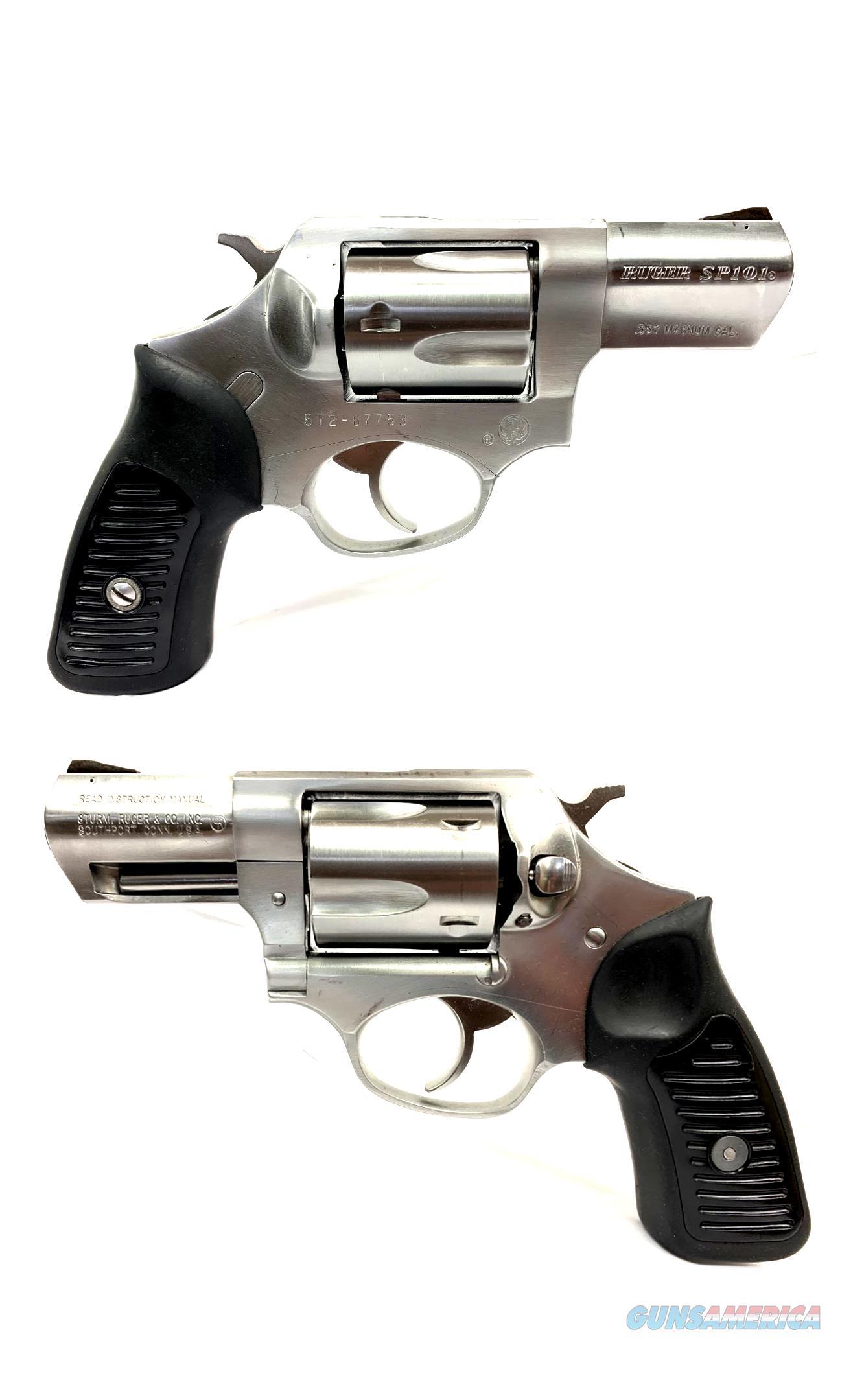 Ruger SP101 .357 MAGNUM Revolver W/ Holster  Guns > Pistols > Ruger Double Action Revolver > SP101 Type