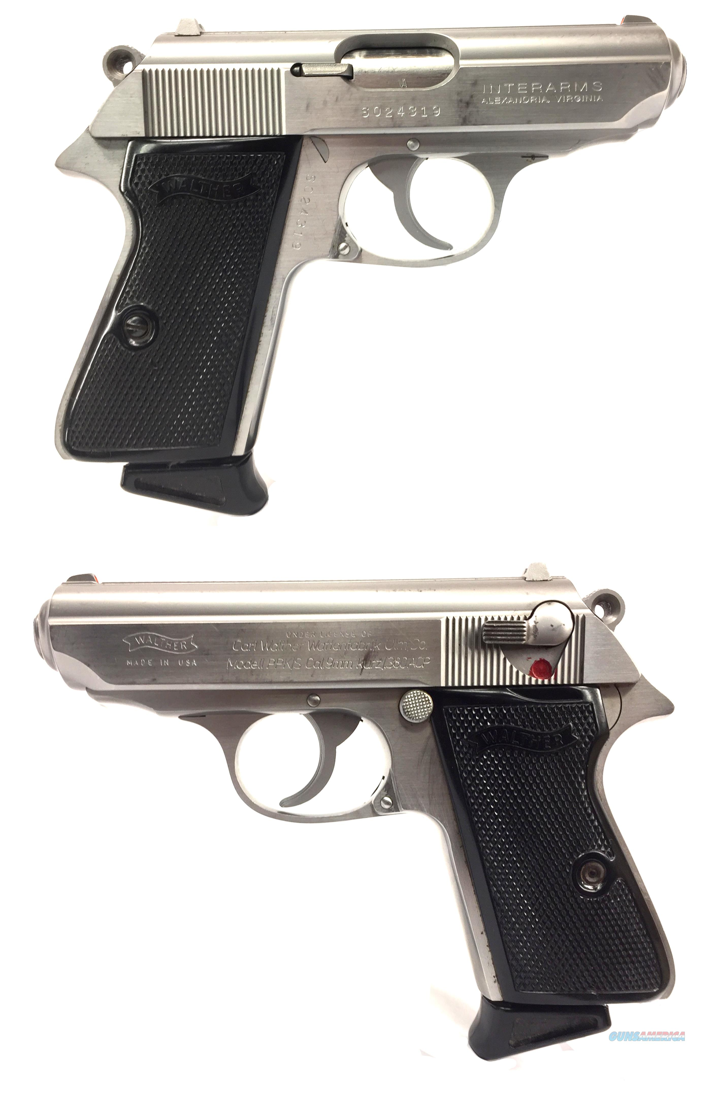 Walther-Interarms PPK/S .380   Guns > Pistols > Interarms Pistols