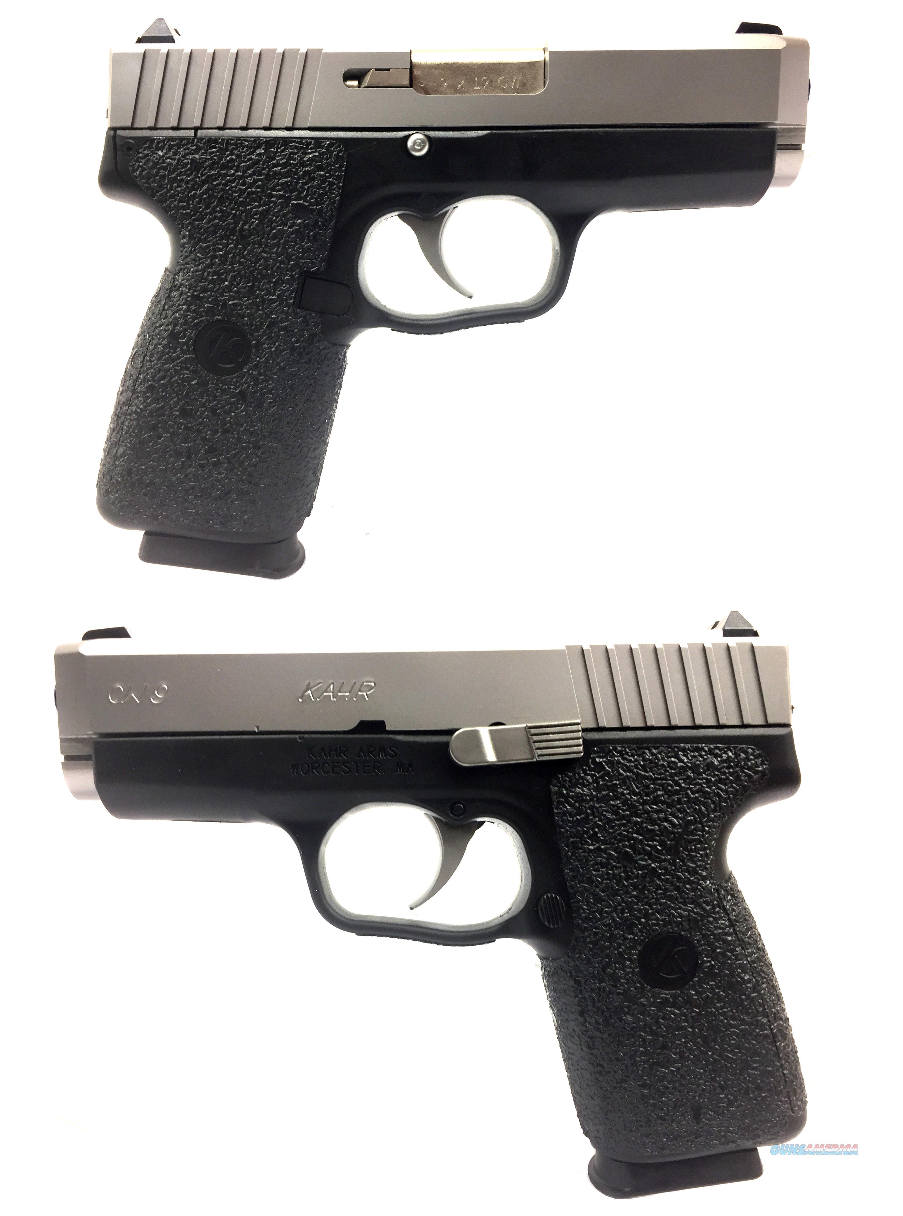 Kahr CW9 Semi-Automatic Pistol  Guns > Pistols > Kahr Pistols