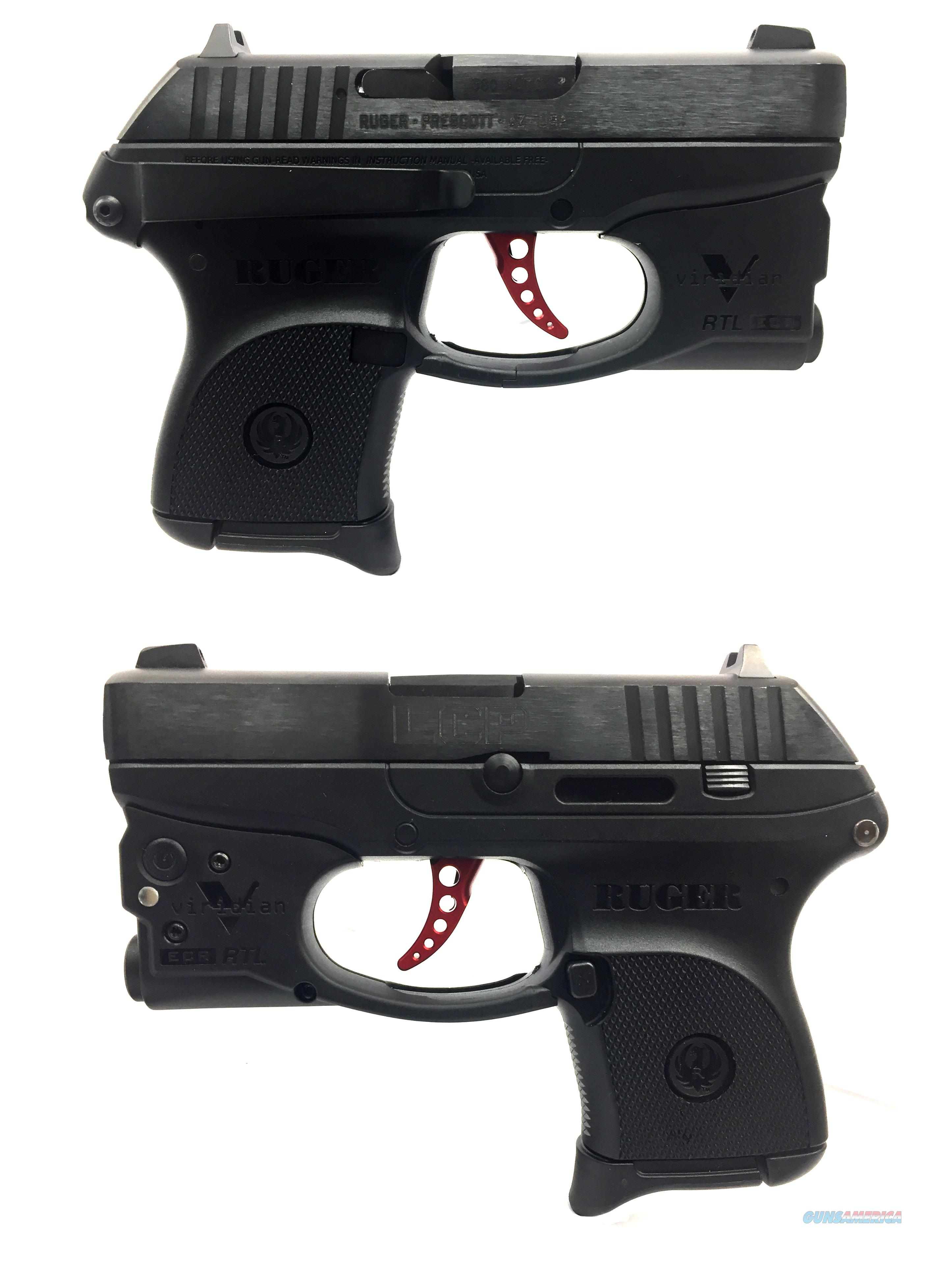 Ruger LCP w/ Viridian RTL Flashlight And Custom Trigger  Guns > Pistols > Ruger Semi-Auto Pistols > LCP