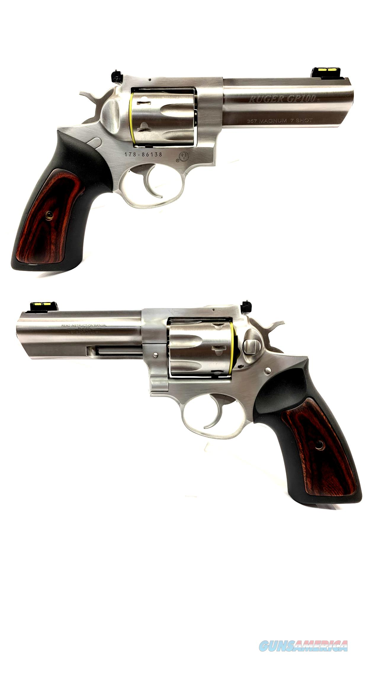 Ruger GP100 .357 Magnum 7-Shot Revolver  Guns > Pistols > Ruger Double Action Revolver > GP100