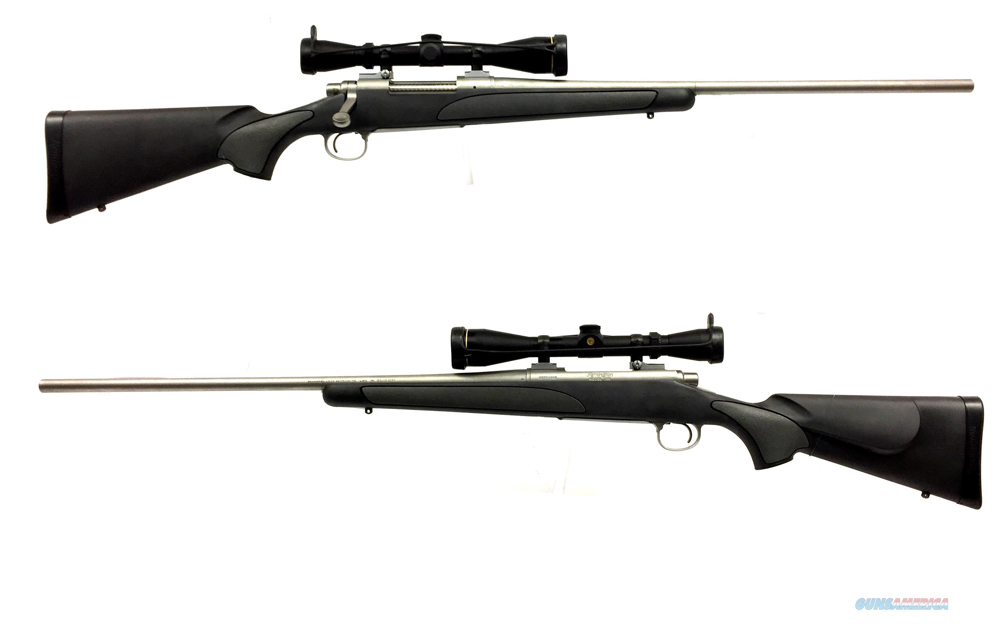 Remington 700 SPS .30-06 W/ Leupold Scope  Guns > Rifles > Remington Rifles - Modern > Model 700 > Sporting