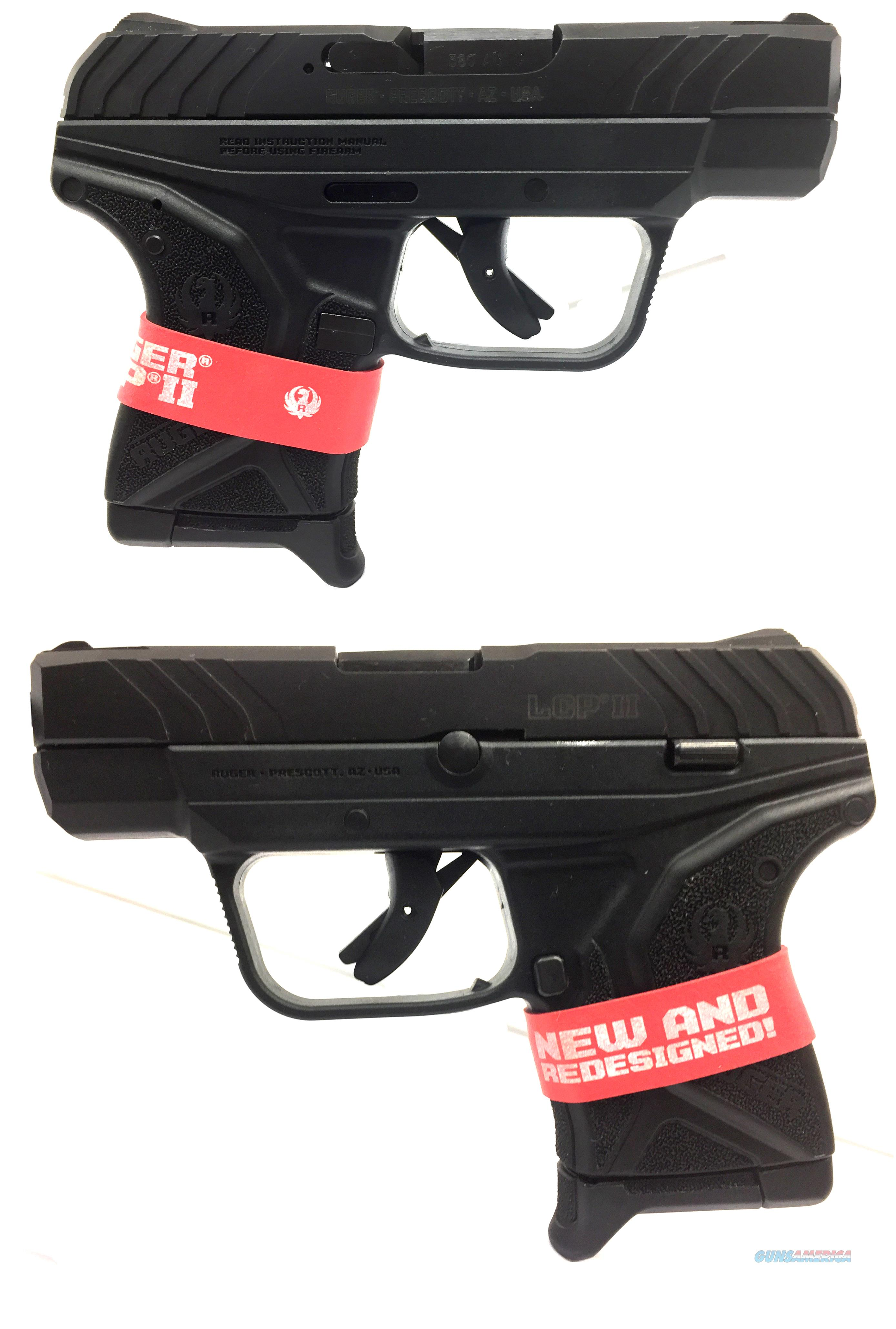 Ruger LCP II Semi-Automatic Pistol   Guns > Pistols > Ruger Semi-Auto Pistols > LCP