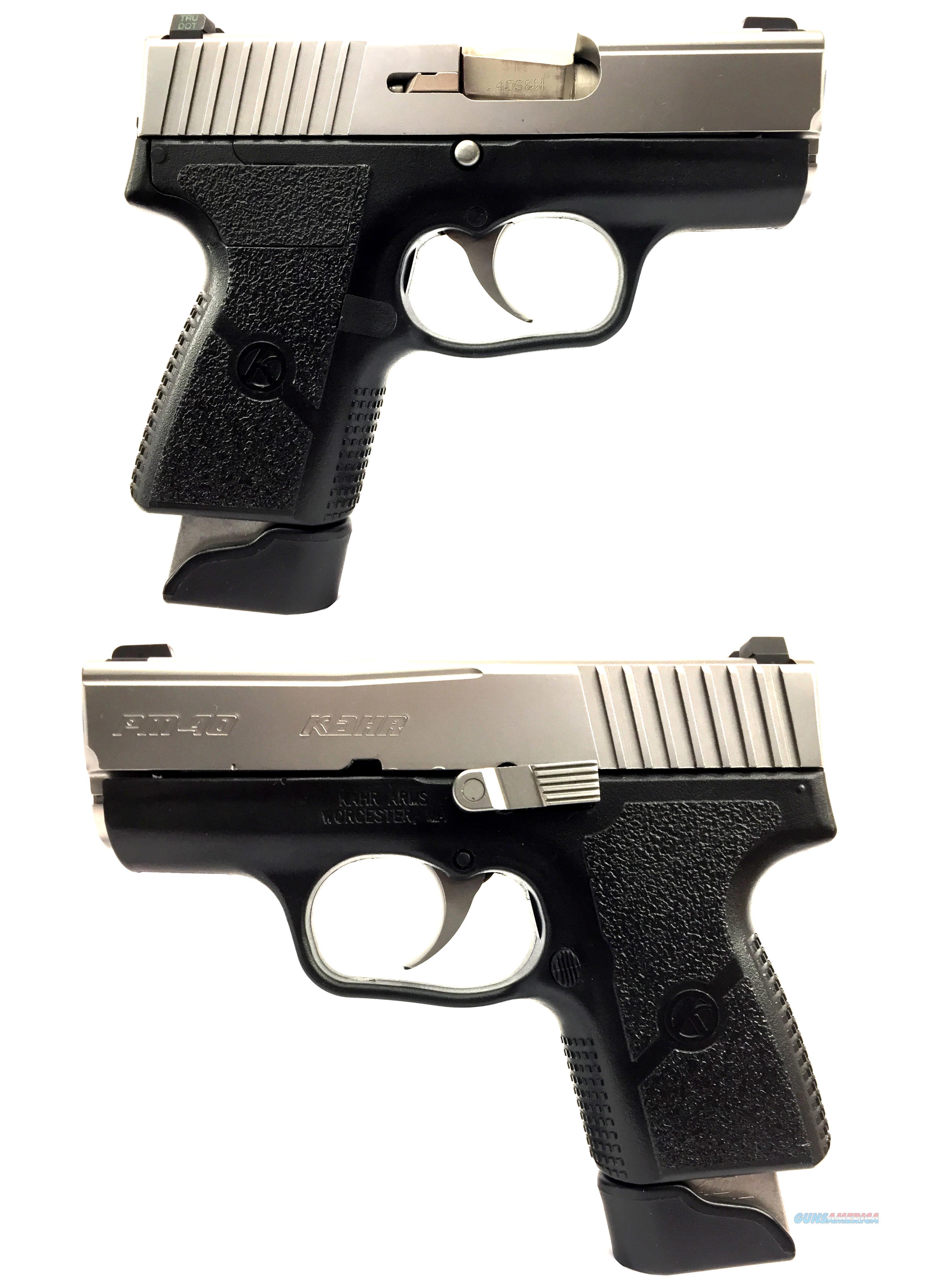 Kahr Arms PM40 Two Tone With Night Sights  Guns > Pistols > Kahr Pistols