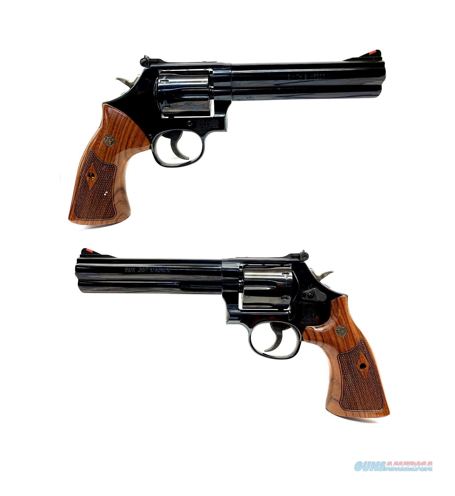 Smith & Wesson Model 586-6 Distinguished Combat Magnum  Guns > Pistols > Smith & Wesson Revolvers > Med. Frame ( K/L )