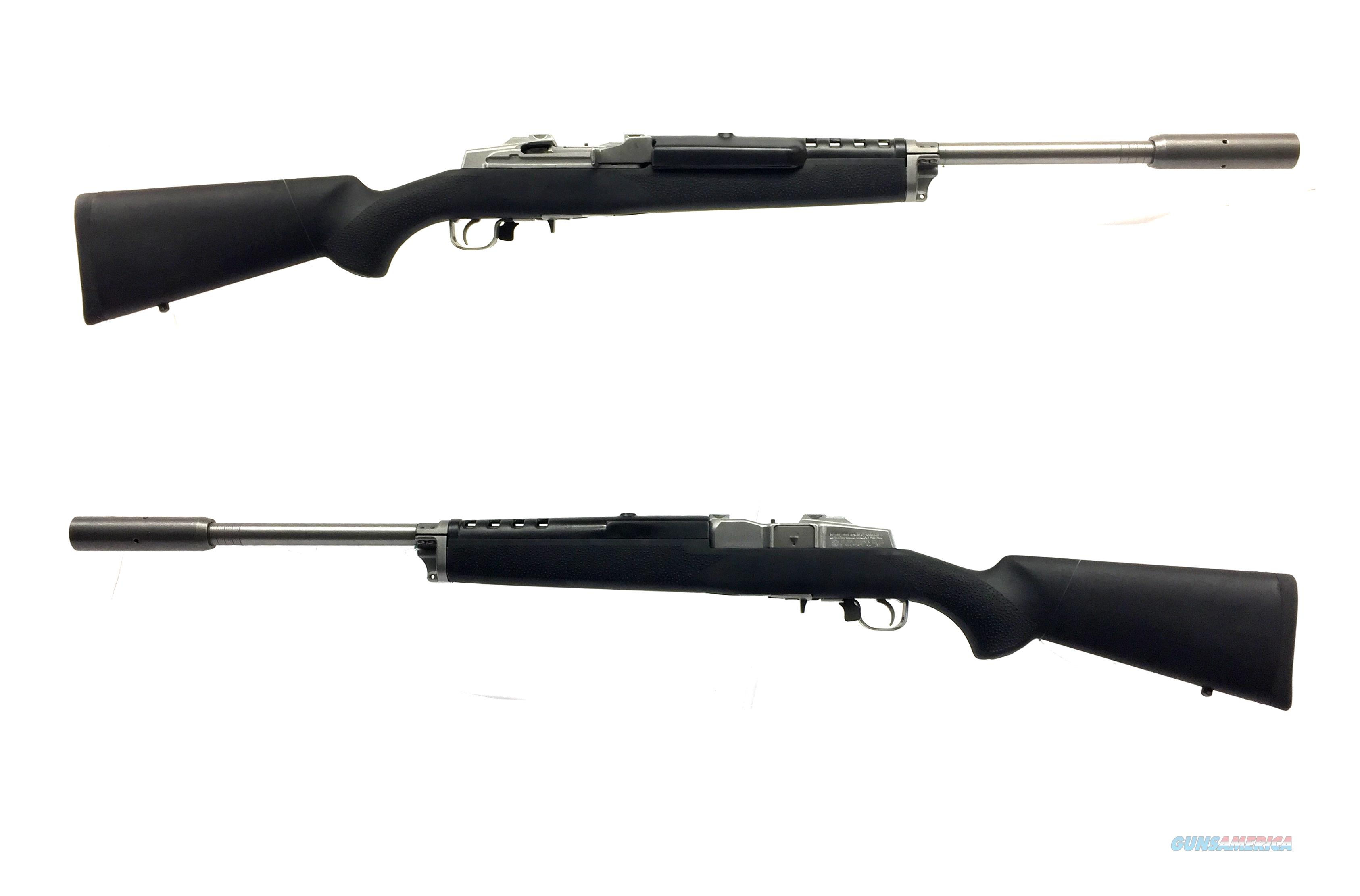 Ruger Mini-14 Target Rifle W/ Hogue Molded Stock  Guns > Rifles > Ruger Rifles > Mini-14 Type