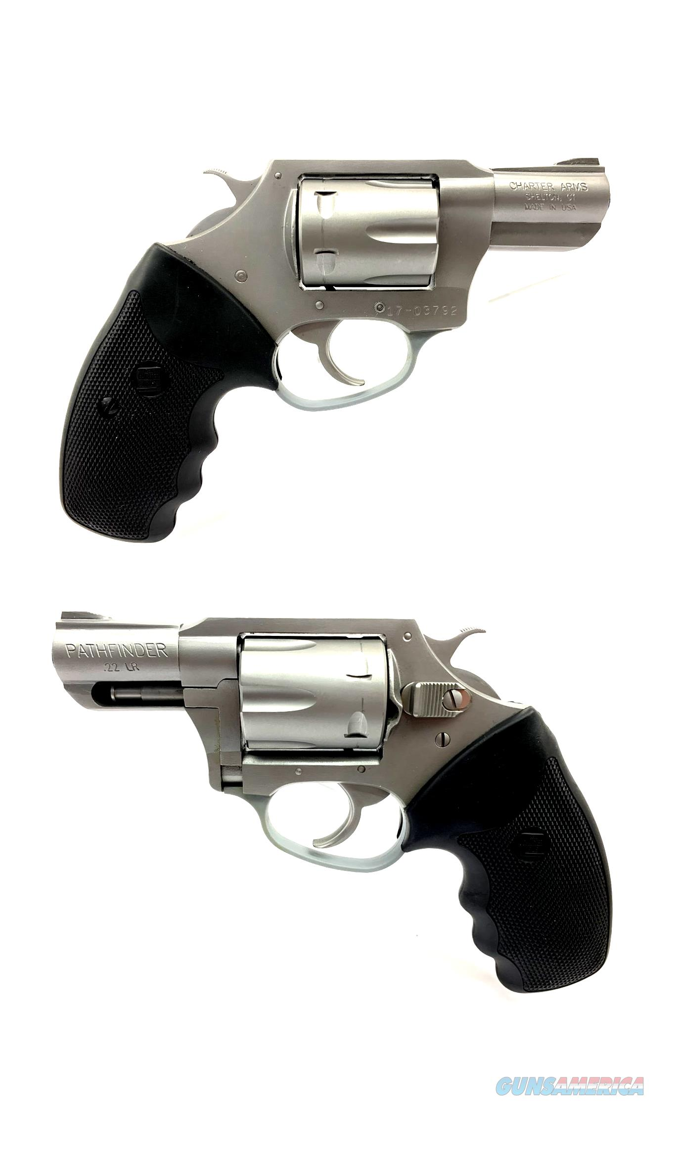 Charter Arms Pathfinder .22LR 6-Shot Revolver  Guns > Pistols > Charter Arms Revolvers