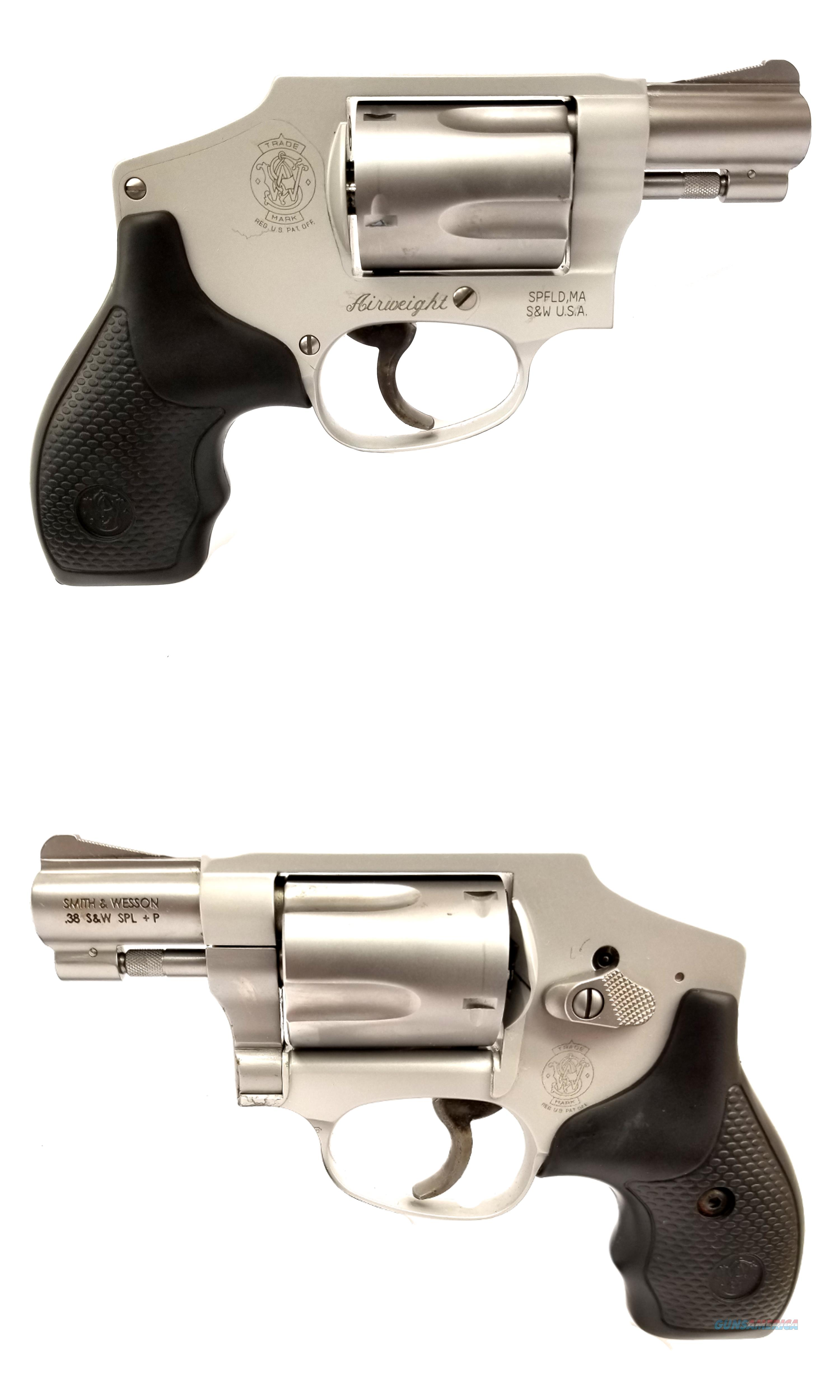 Smith & Wesson Model 642 .38 Special Revovler  Guns > Pistols > Smith & Wesson Revolvers > Small Frame ( J )