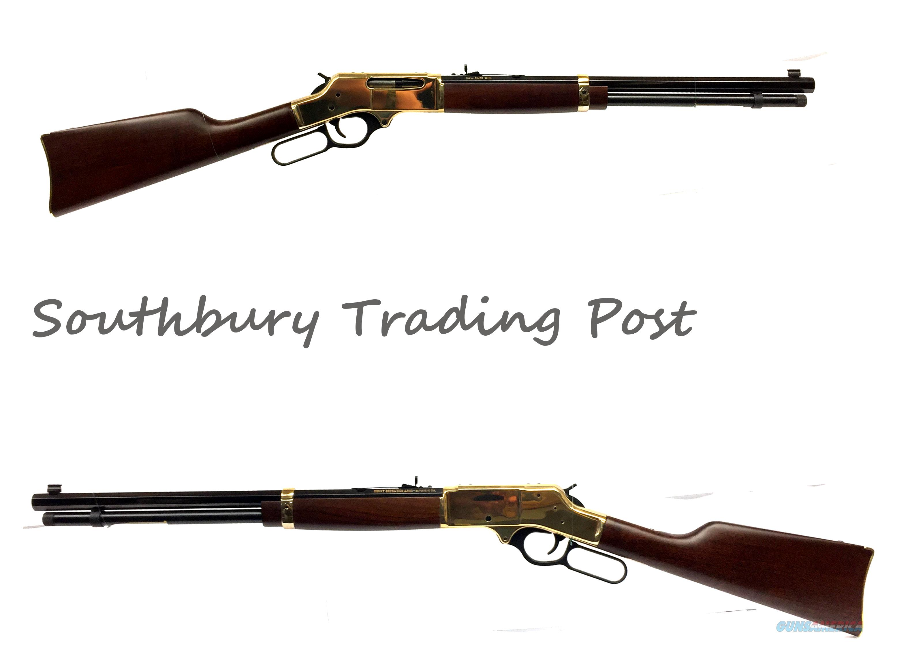 Henry 30/30 Lever Action Rifle  Guns > Rifles > Henry Rifle Company