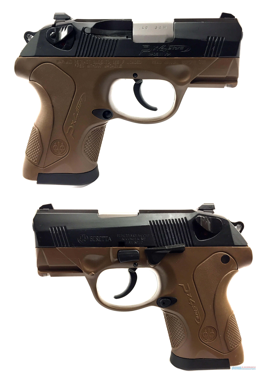 Beretta Px4 Storm SubCompact .40S&W Semi-Automatic Pistol  Guns > Pistols > Beretta Pistols > Polymer Frame