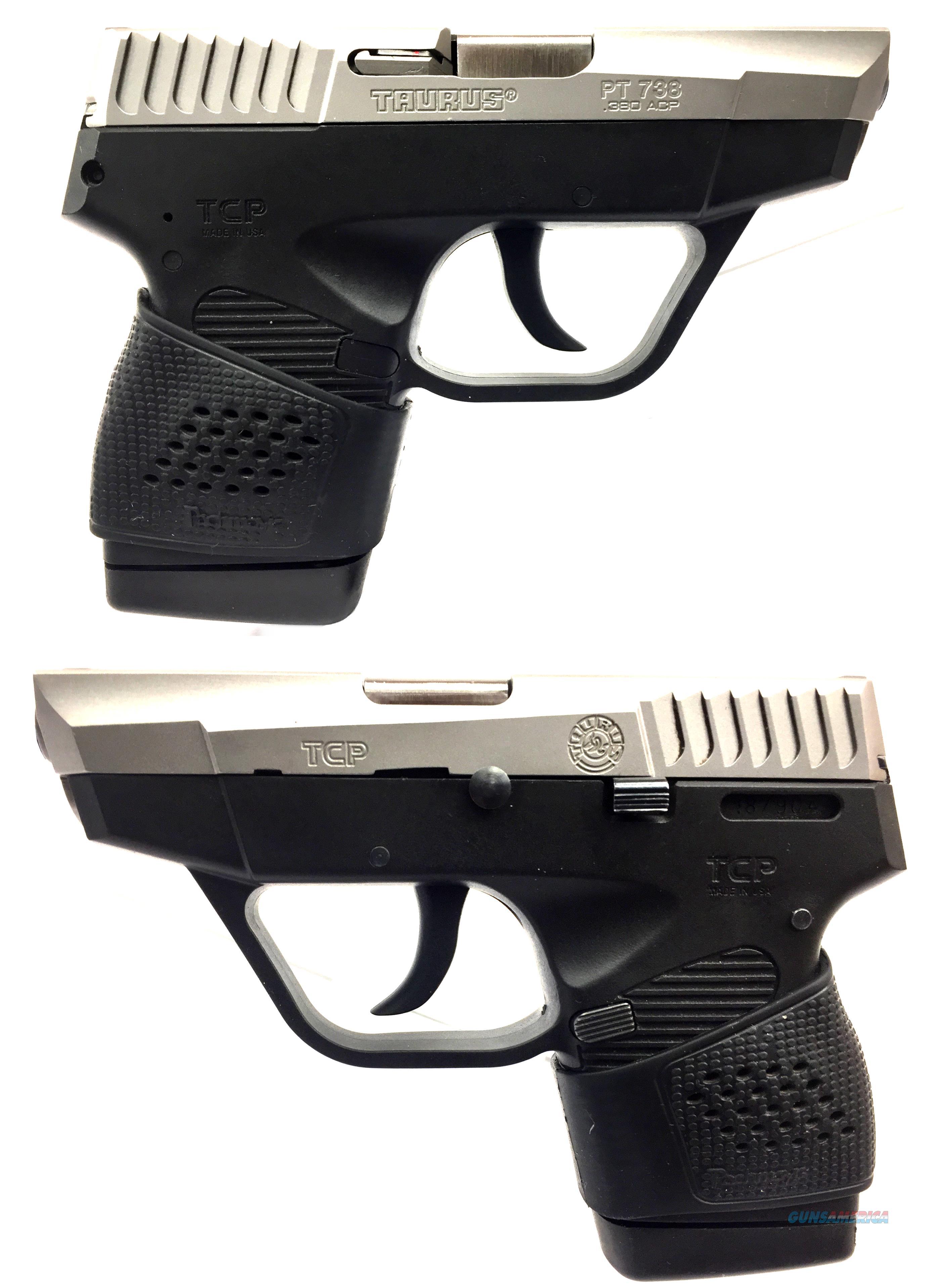 Taurus PT 738 TCP .380 Auto W/ Extras  Guns > Pistols > Taurus Pistols > Semi Auto Pistols > Polymer Frame