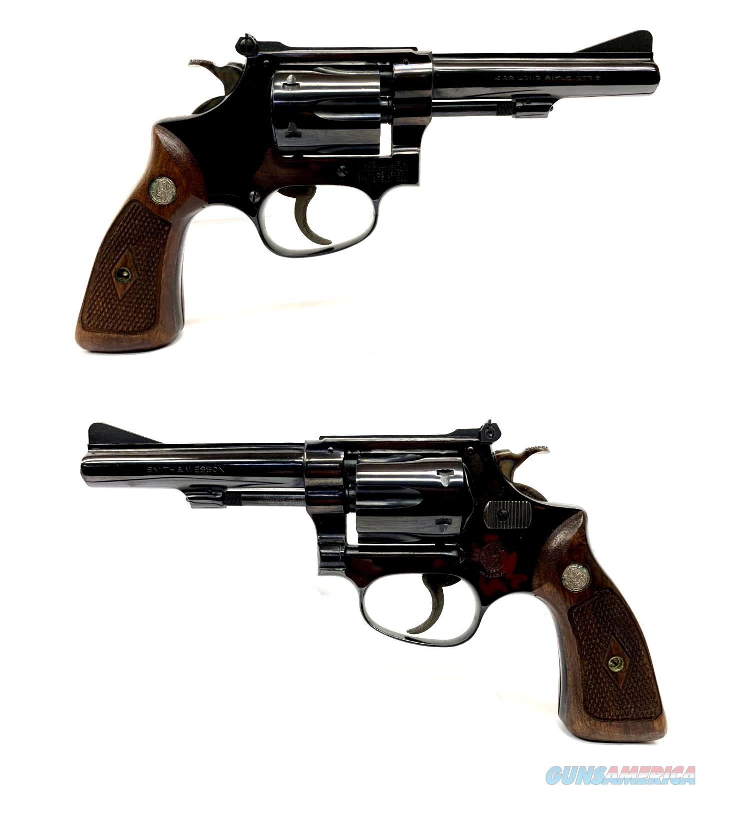 Smith & Wesson Model 34-1 Revolver  Guns > Pistols > Smith & Wesson Revolvers > Small Frame ( J )