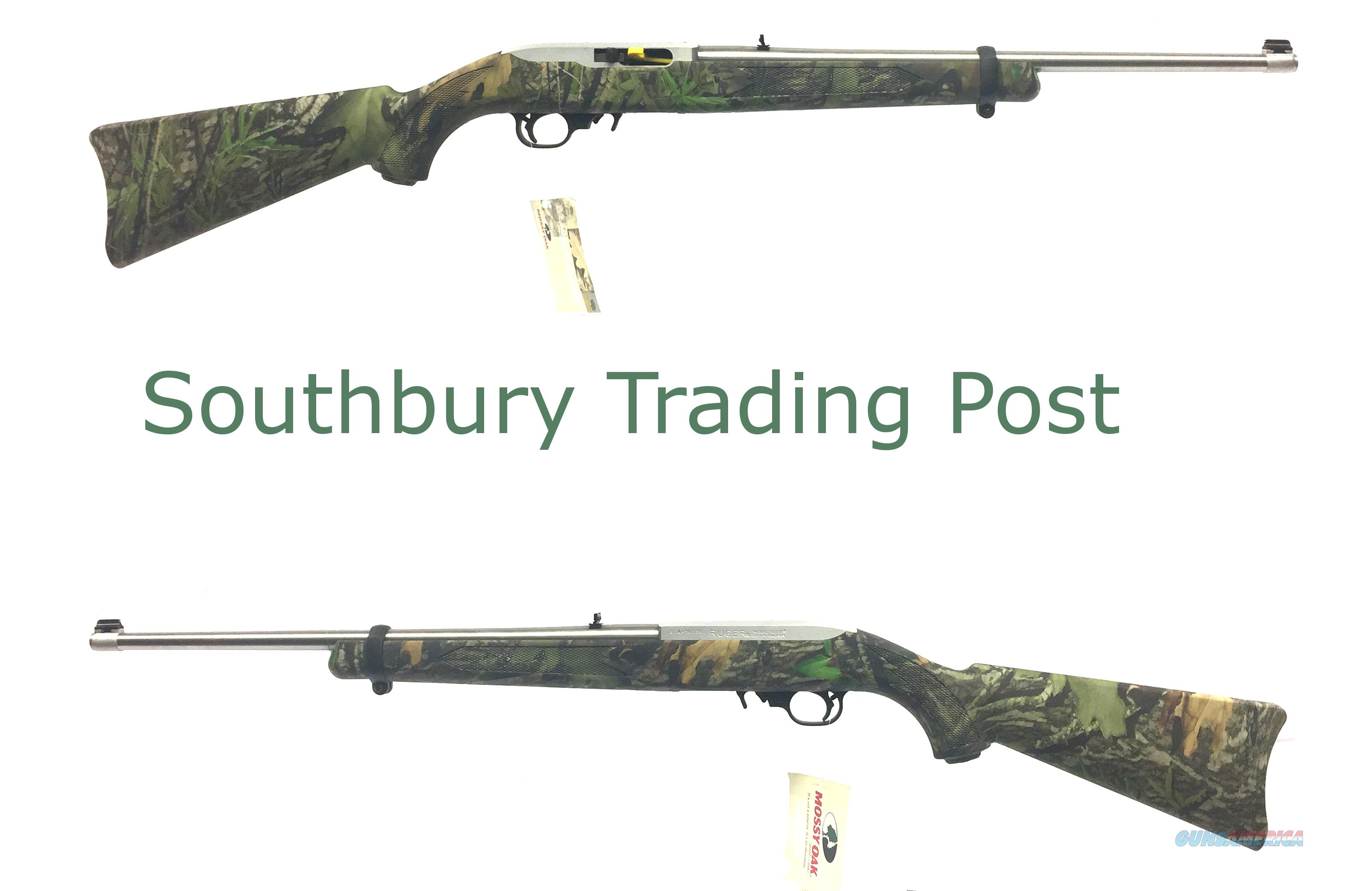 Ruger 10/22 Semi-Automatic Rifle In Mossy Oak   Guns > Rifles > Ruger Rifles > 10-22