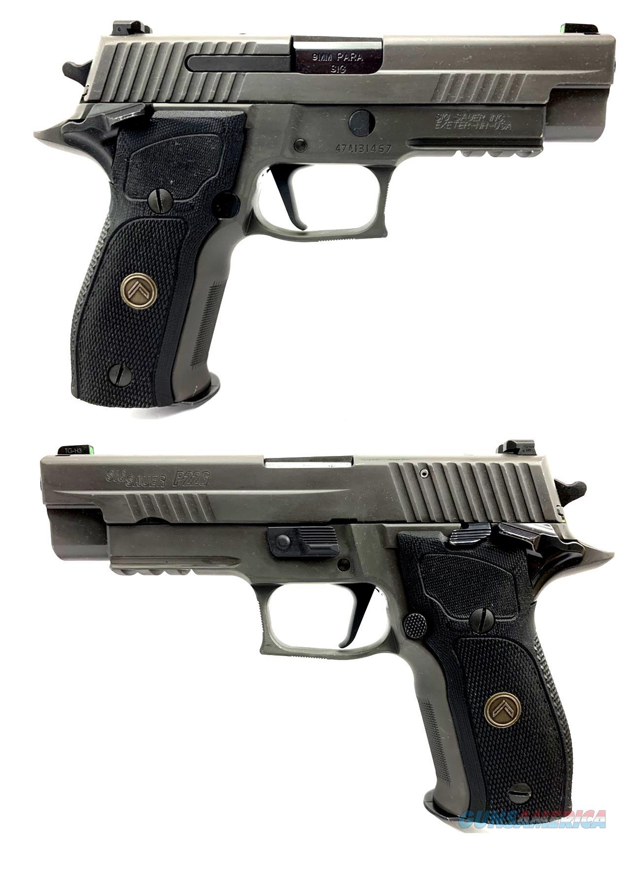 Sig Sauer P226 Legion 9MM Semi-Automatic Pistol  Guns > Pistols > Sig - Sauer/Sigarms Pistols > P226