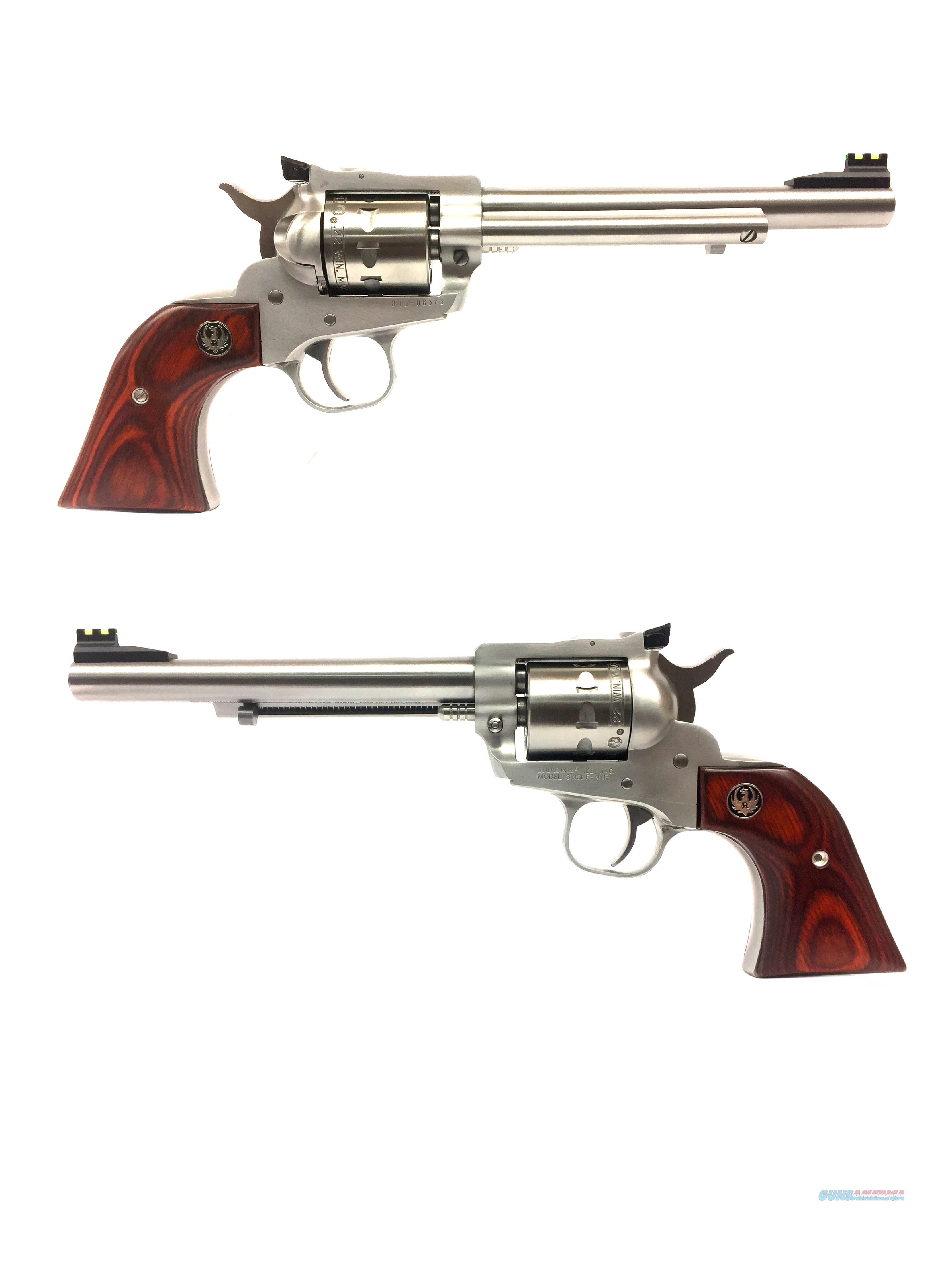 Ruger Single Nine .22 Magnum Single-Action Revolver  Guns > Pistols > Ruger Single Action Revolvers > Single Six Type