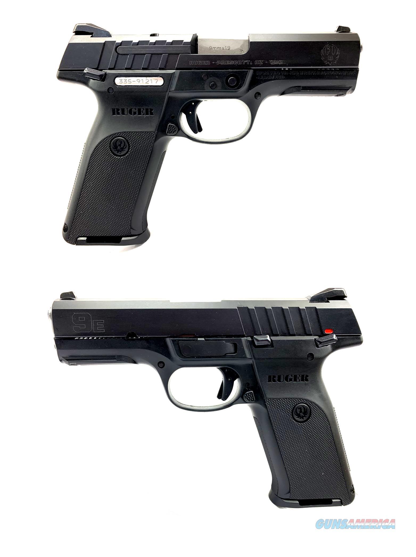 Ruger 9E Semi-Automatic Pistol  Guns > Pistols > Ruger Semi-Auto Pistols > SR Family > SR9E