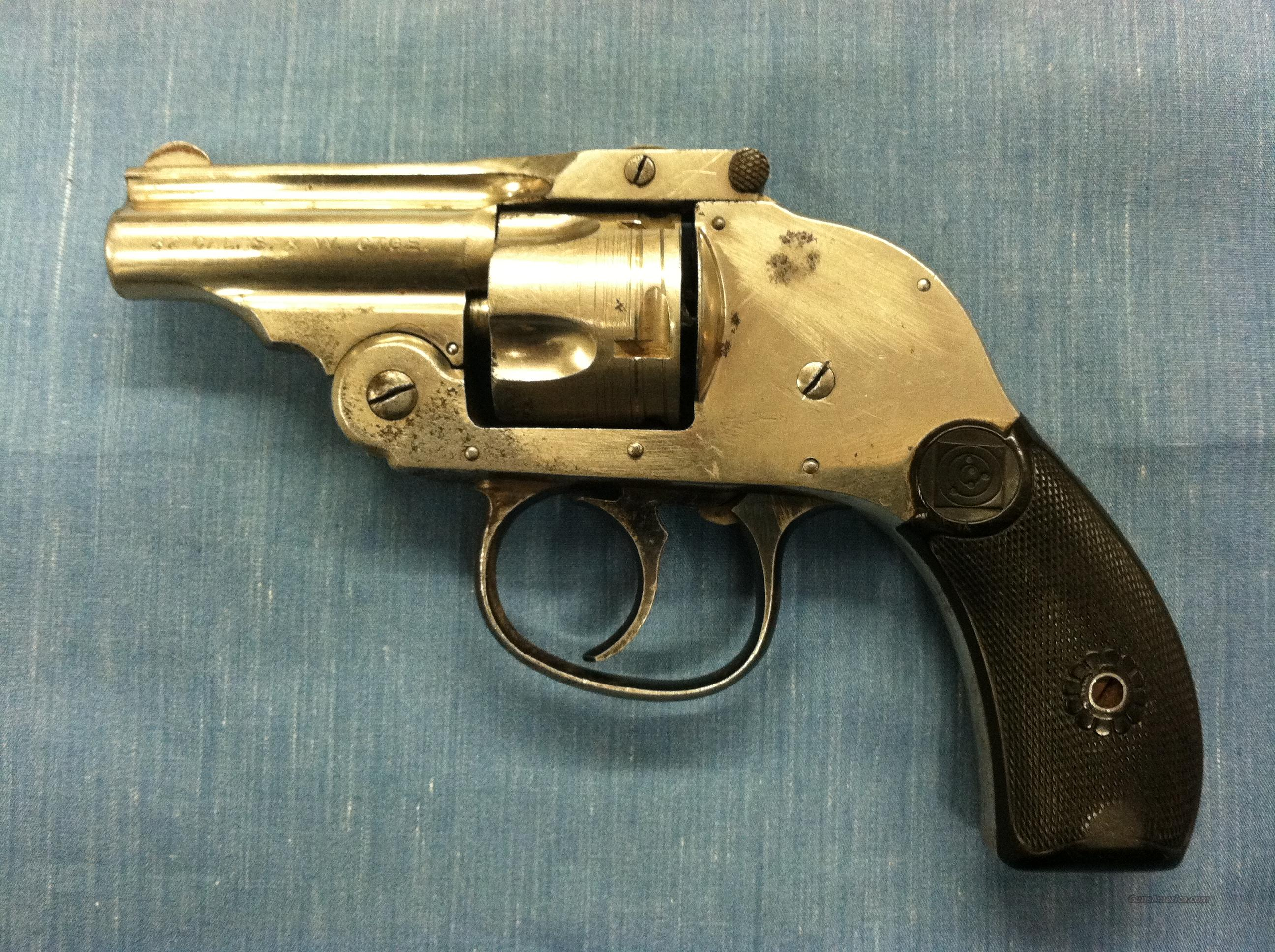 "H&R Premier Second Model .32 S&W 2"" Brl.  Guns > Pistols > Harrington & Richardson Pistols"