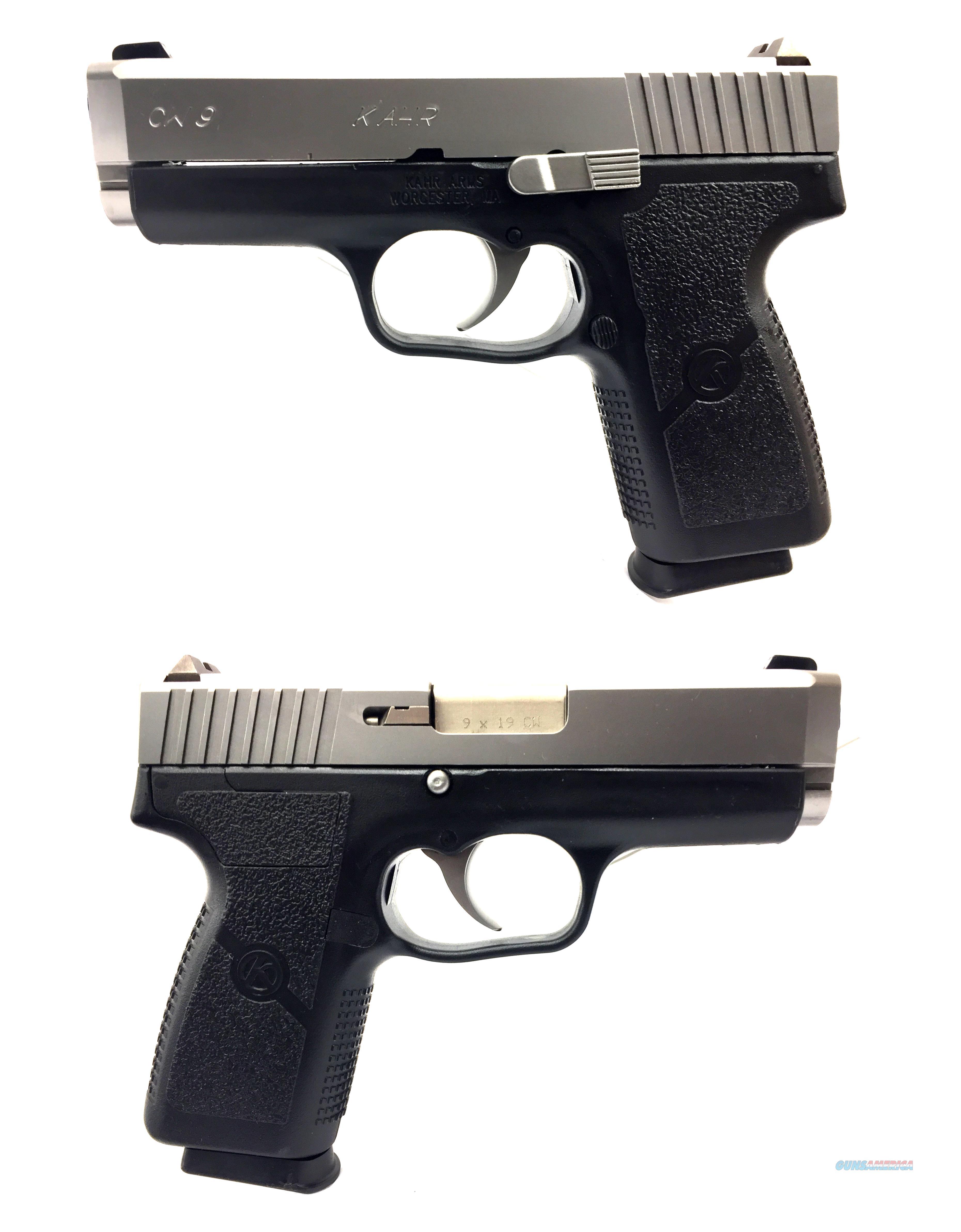 Kahr CW 9 Semi-Automatic Pistol  Guns > Pistols > Kahr Pistols
