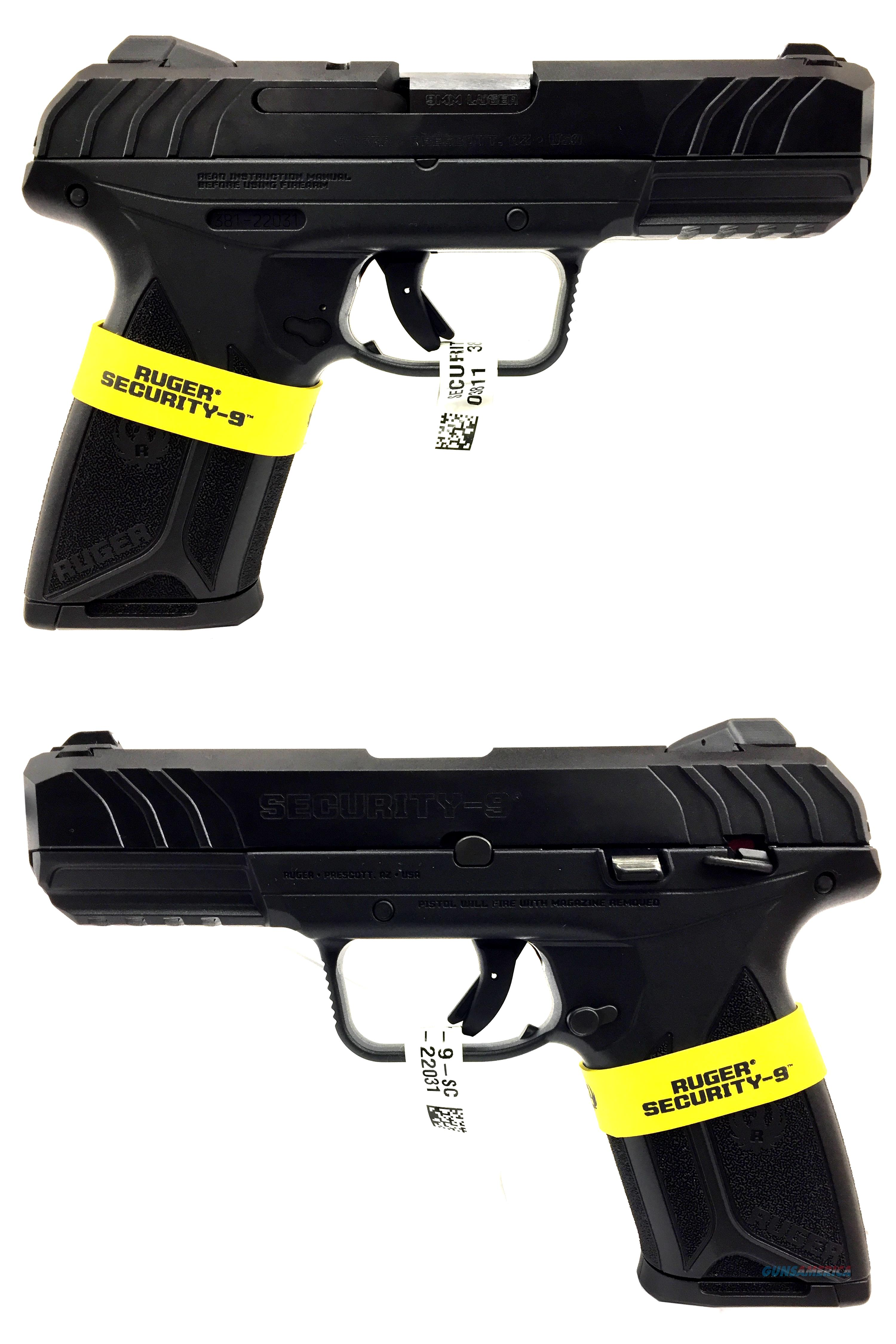 Ruger Security 9 Semi-Automatic Pistol  Guns > Pistols > Ruger Semi-Auto Pistols > Security 9