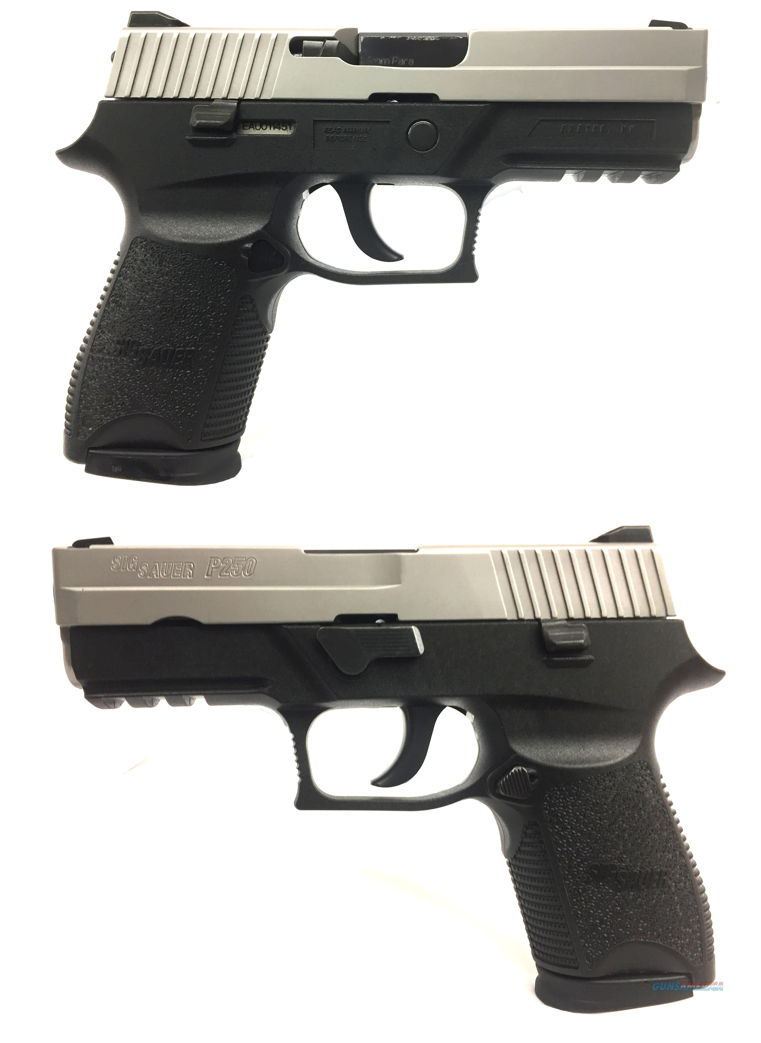 Sig Sauer P250C Two-Tone 9mm  Guns > Pistols > Sig - Sauer/Sigarms Pistols > P250