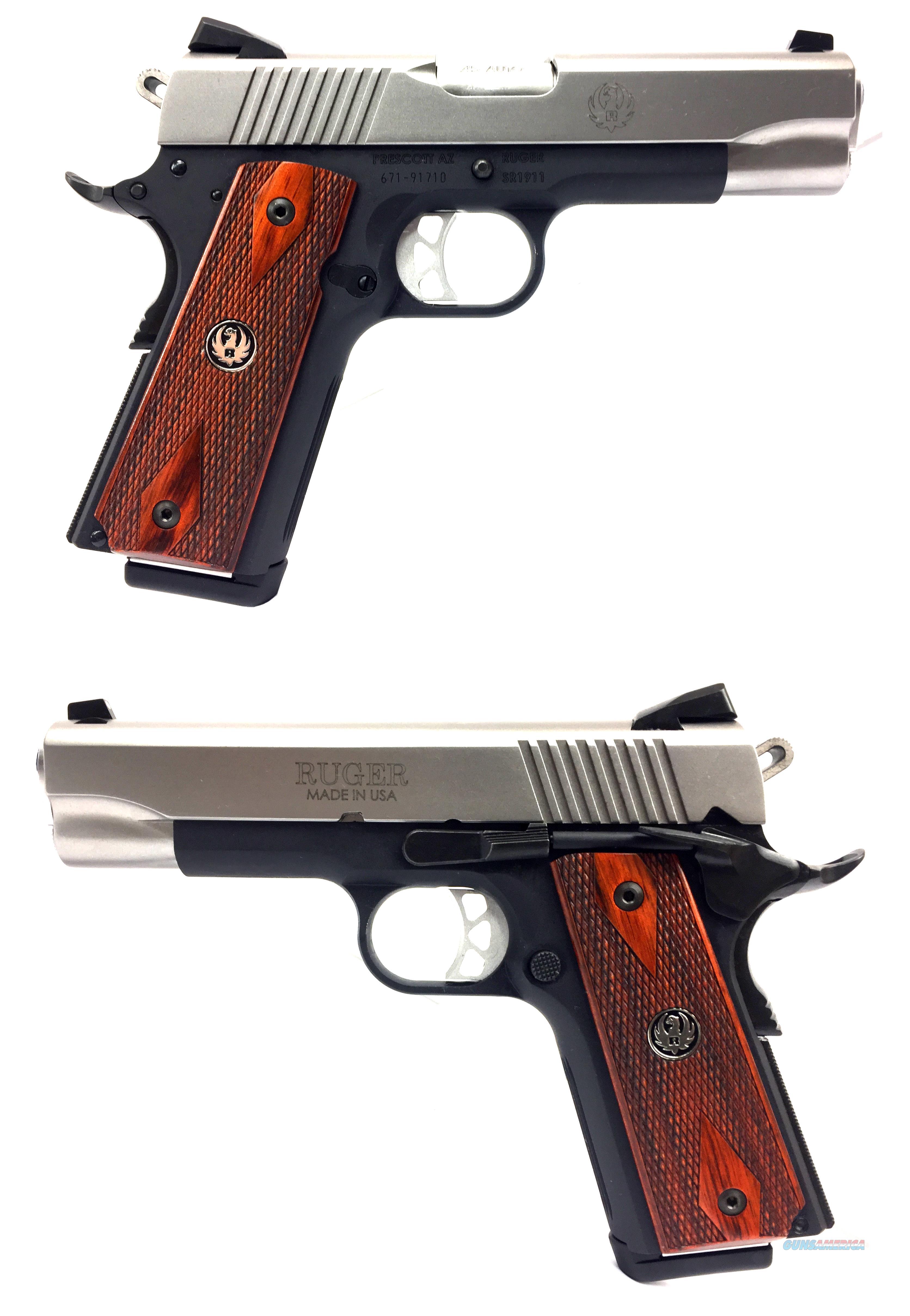 Ruger SR1911 .45ACP Lightweight Commander  Guns > Pistols > Ruger Semi-Auto Pistols > 1911