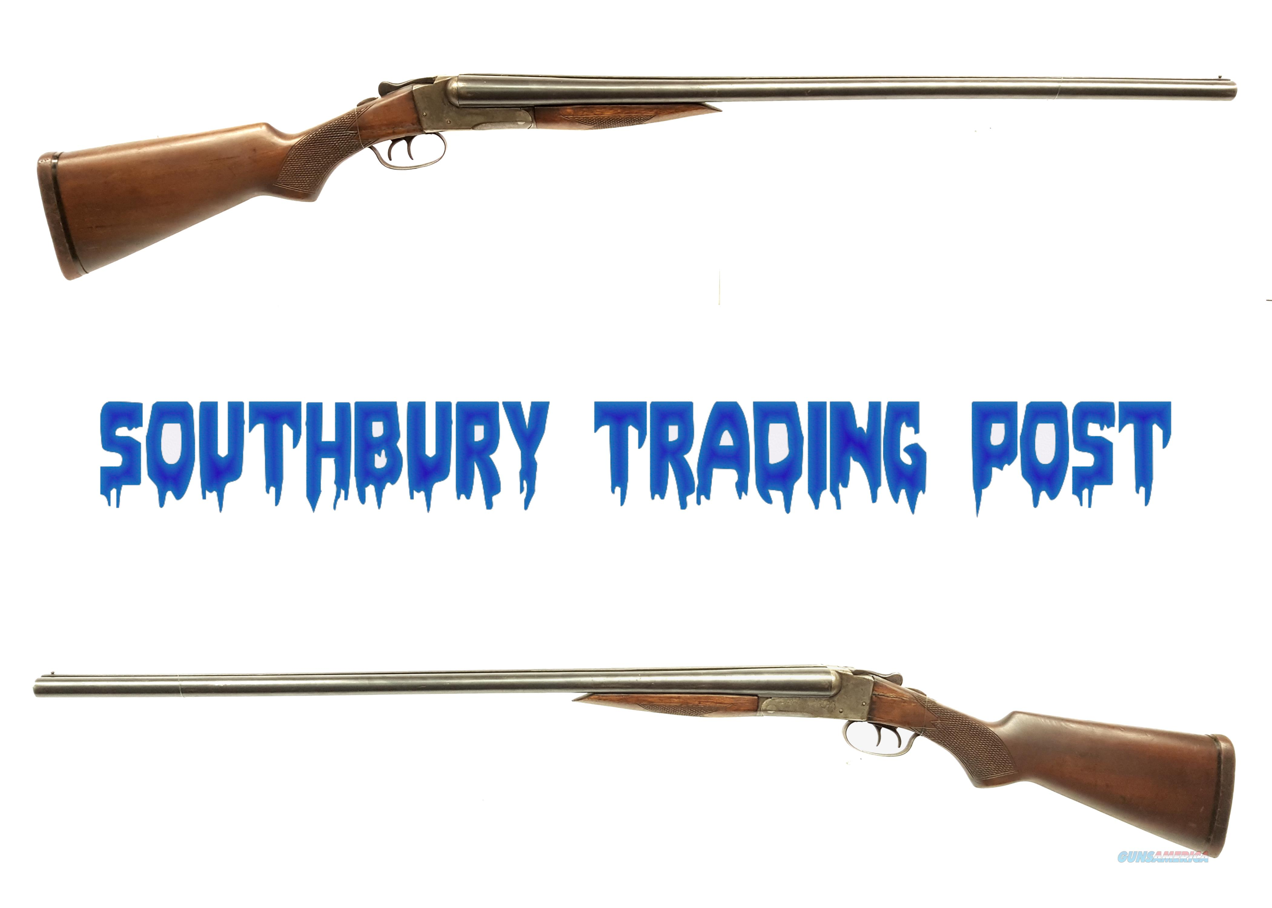J. Stevens Arms Co Paragon Model CS 16 Gauge SxS Shotgun  Guns > Shotguns > Stevens Shotguns