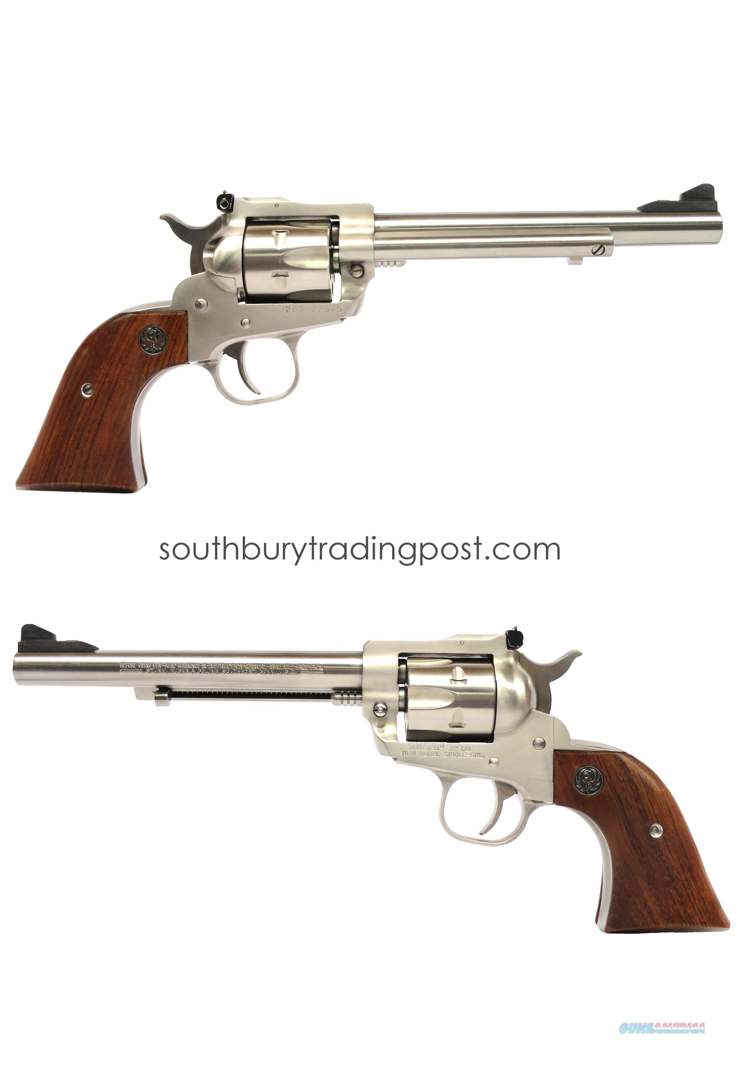 Ruger New Model Single-Six .22LR/WMR - Circa 1997  Guns > Pistols > Ruger Single Action Revolvers > Single Six Type