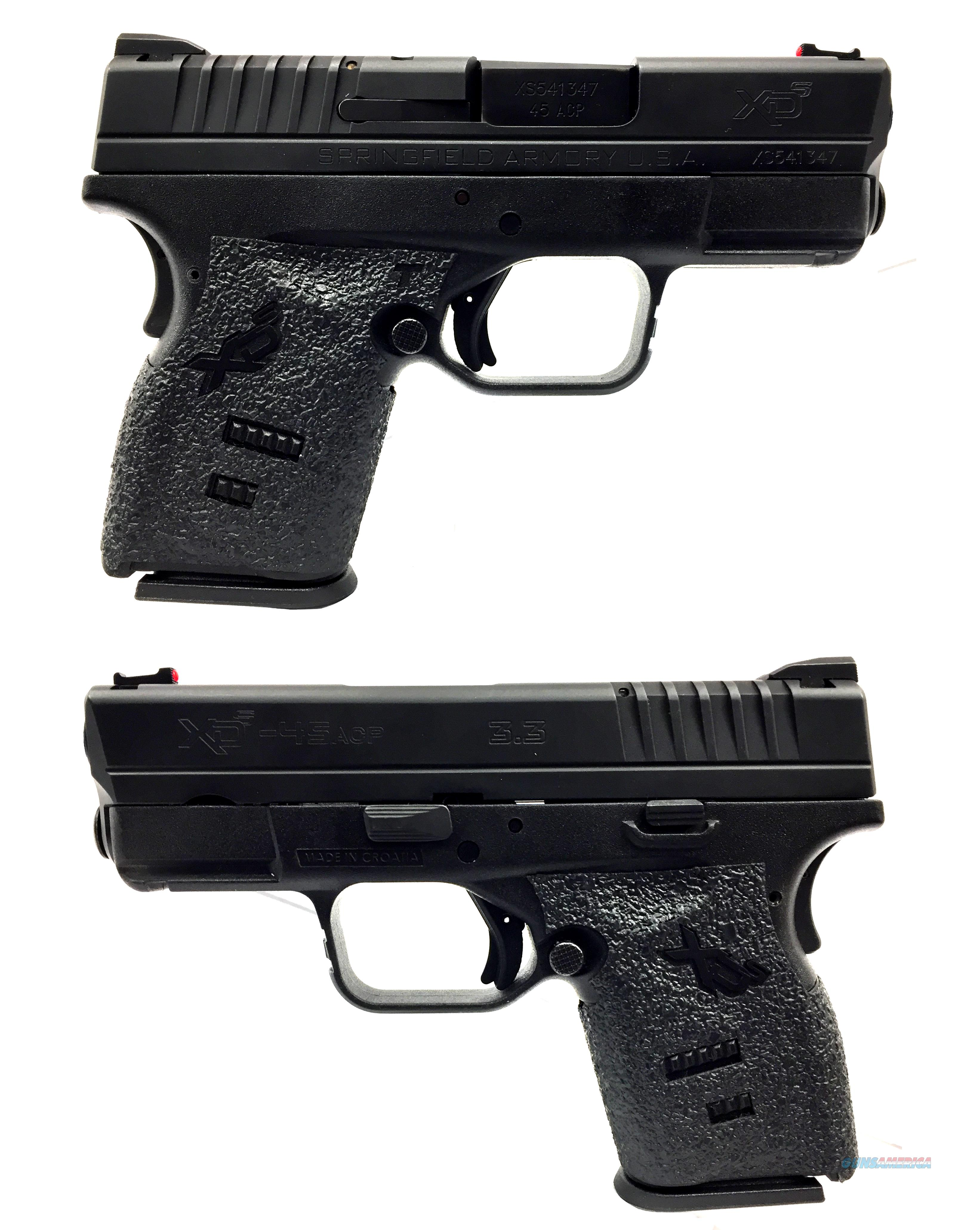 "Springfield Armory XDS 3.3"" Single Stack .45ACP  Guns > Pistols > Springfield Armory Pistols > XD-S"