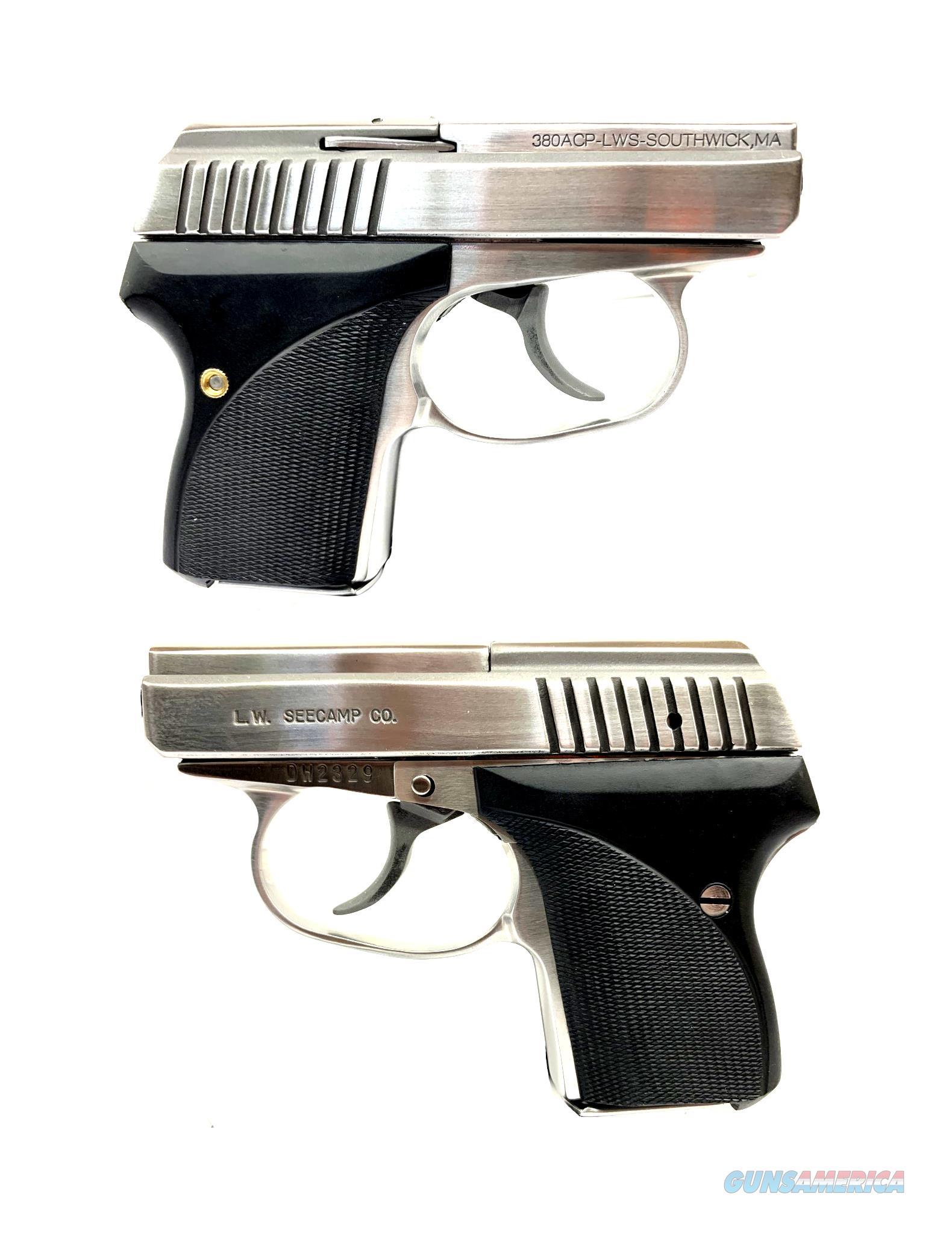 Seecamp LWS380 Semi-Automatic Pistol  Guns > Pistols > Seecamp Pistols