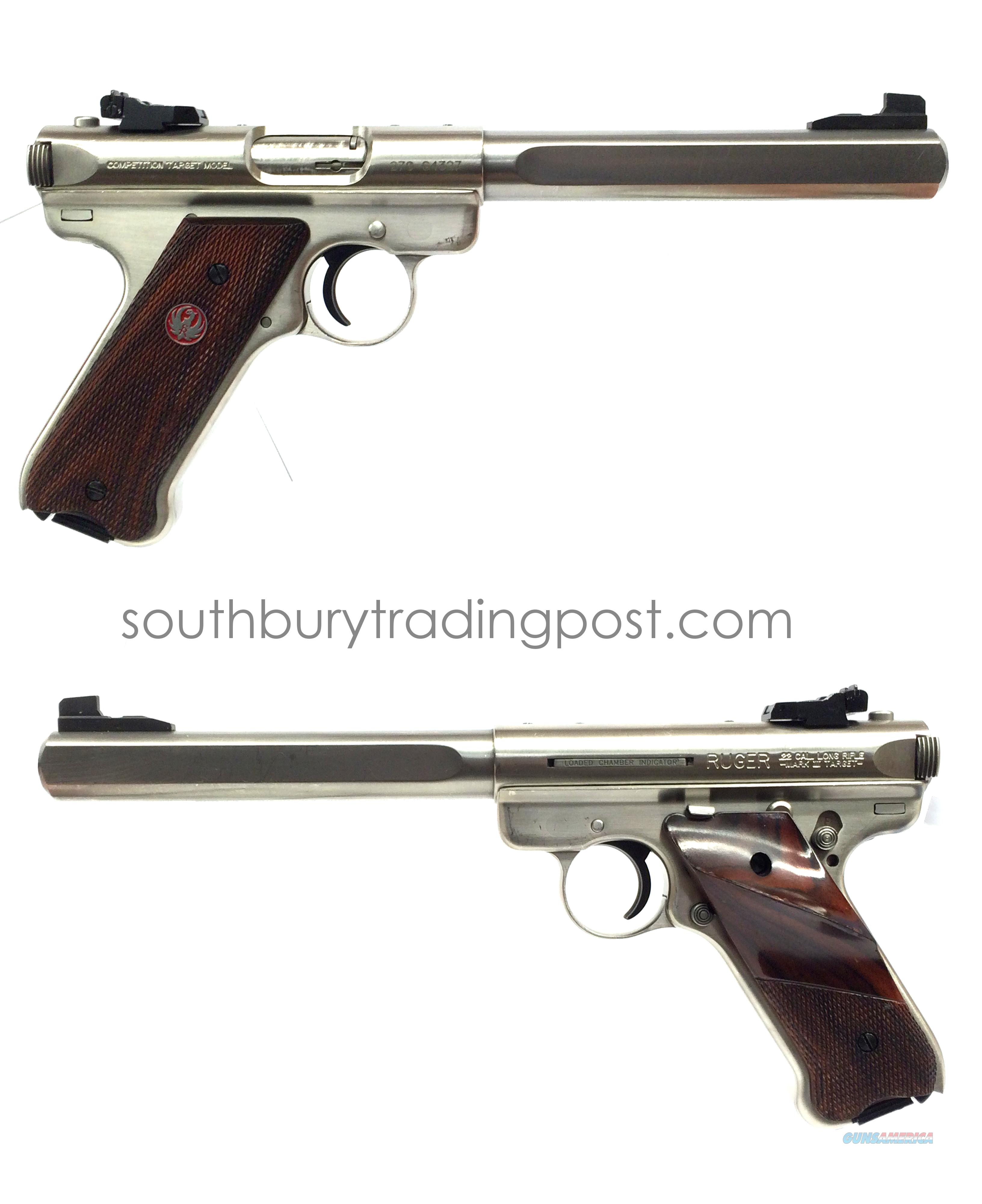 Ruger Competition Target MKIII .22LR  Guns > Pistols > Ruger Semi-Auto Pistols > Mark I/II/III/IV Family
