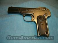 FN -Belgium (Browning's Patent) Model 1900  7.65 pistol  circa (1900-14)  Guns > Pistols > FNH - Fabrique Nationale (FN) Pistols > Pre-War